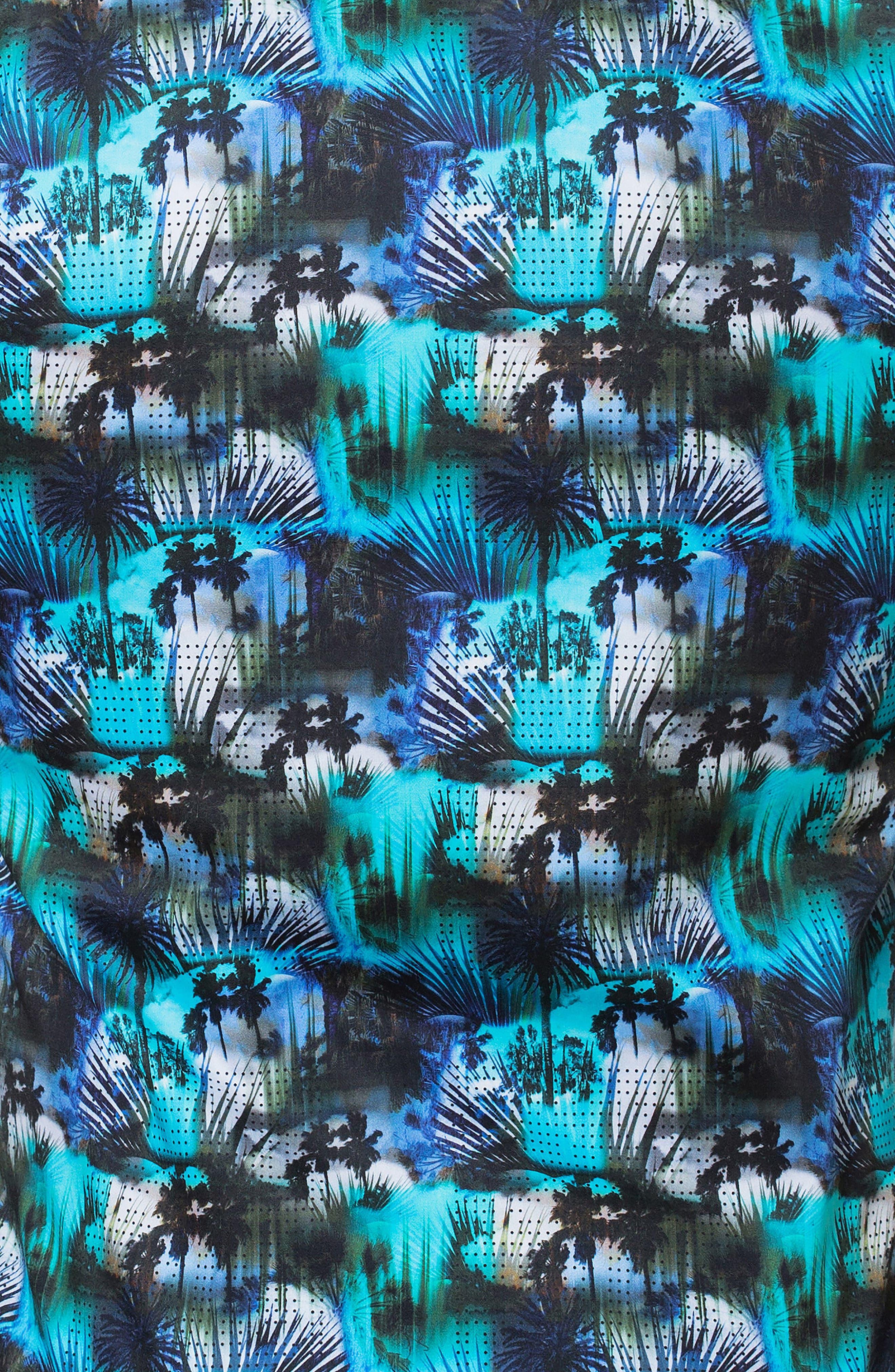 Luxor Miami Slim Fit Sport Shirt,                             Alternate thumbnail 4, color,                             Blue