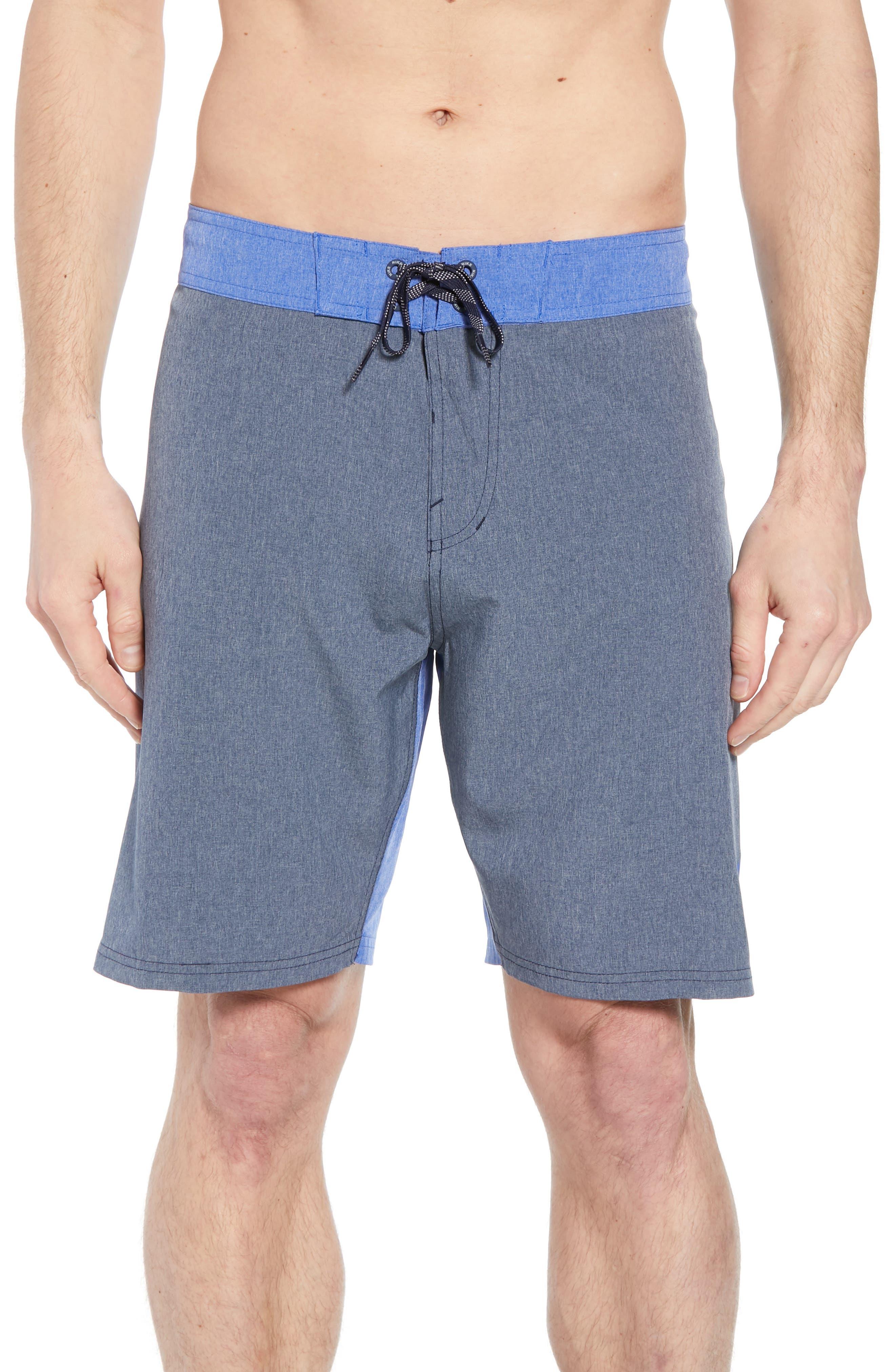 Vortex Board Shorts,                         Main,                         color, Obsidian