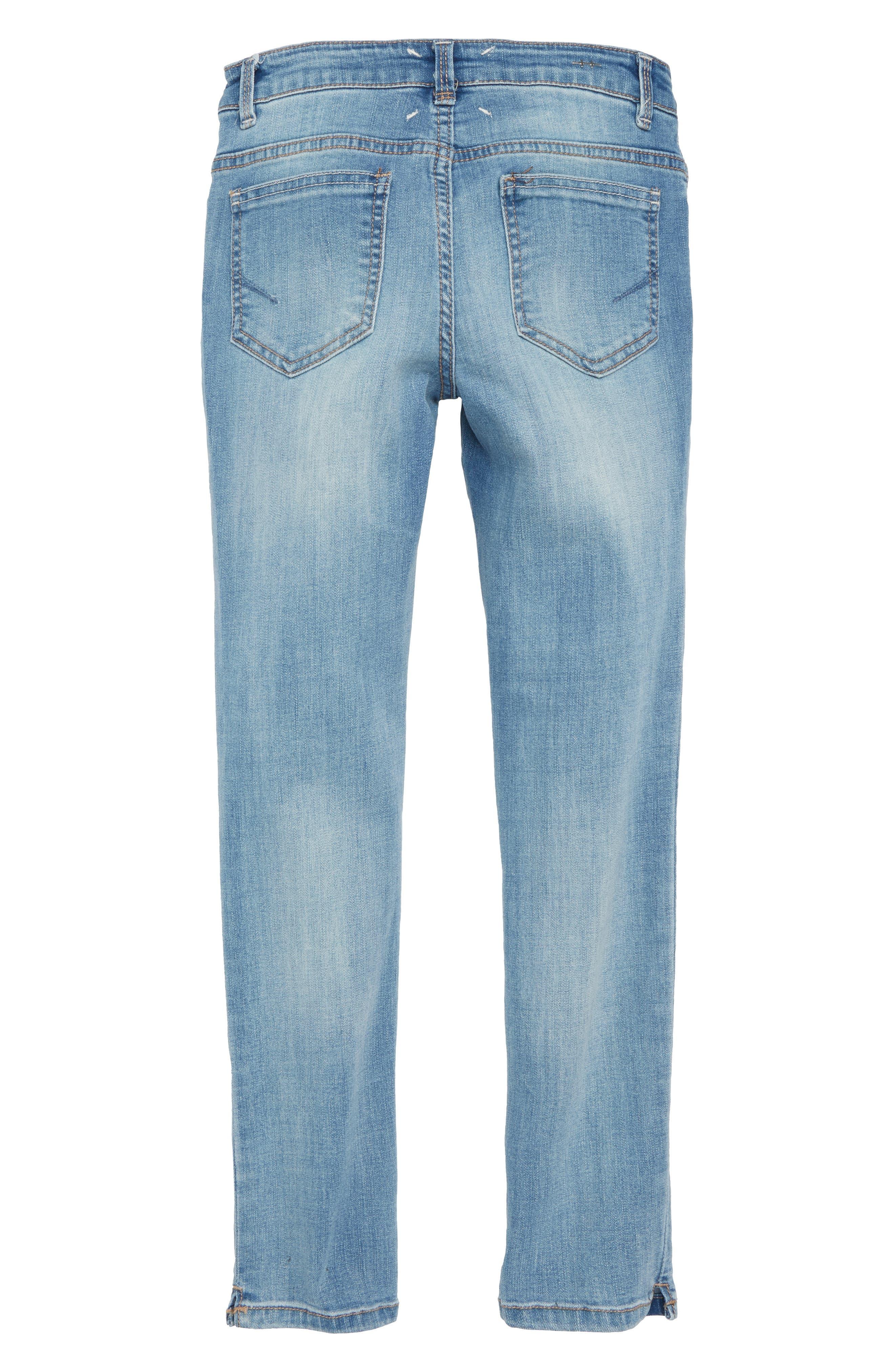 Skinny Jeans,                             Alternate thumbnail 2, color,                             Light Stone