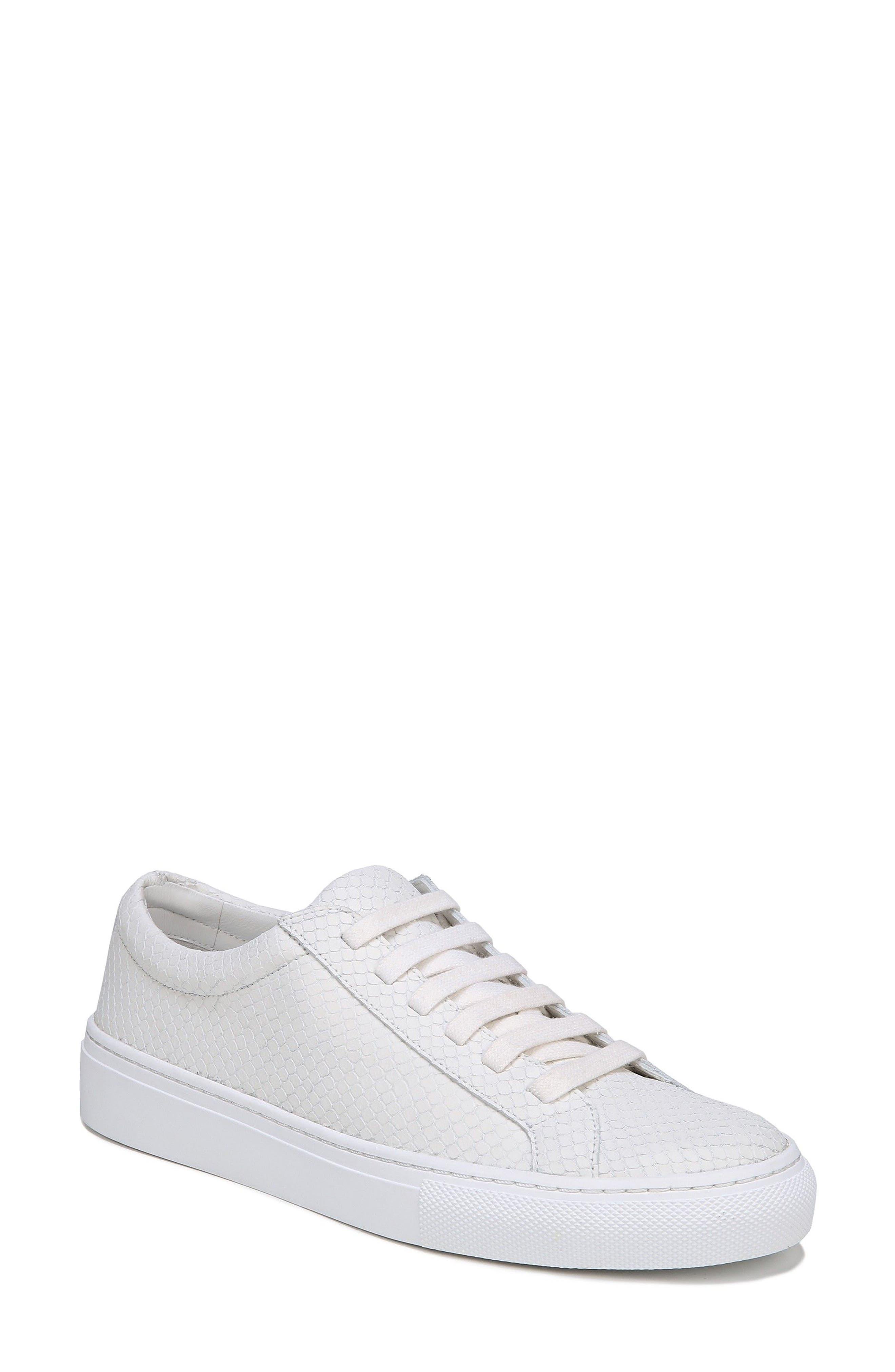 SUIV2 Snake Embossed Sneaker,                         Main,                         color, Porcelain Leather