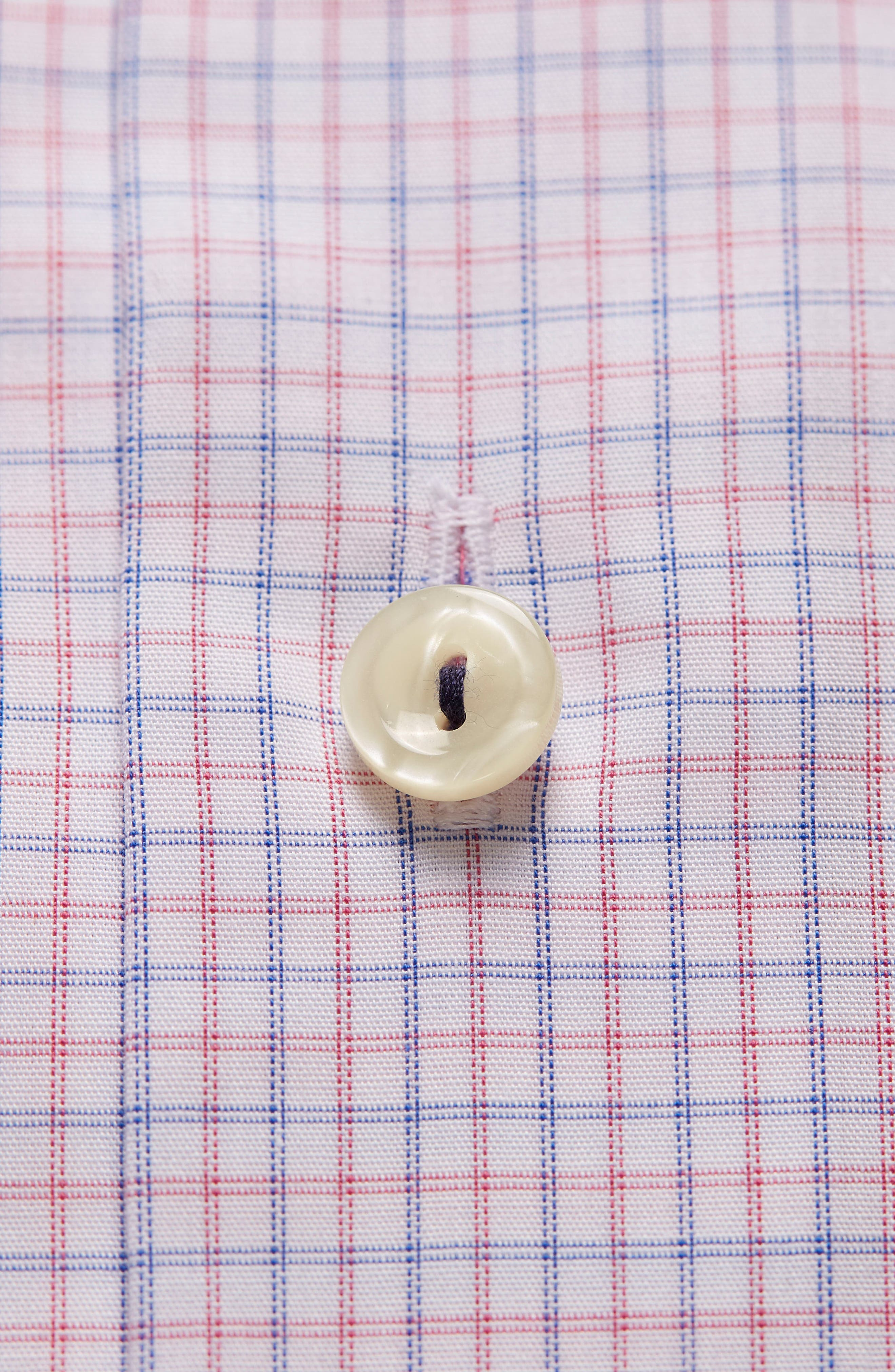 Contemporary Fit Check Dress Shirt,                             Alternate thumbnail 6, color,                             Pink