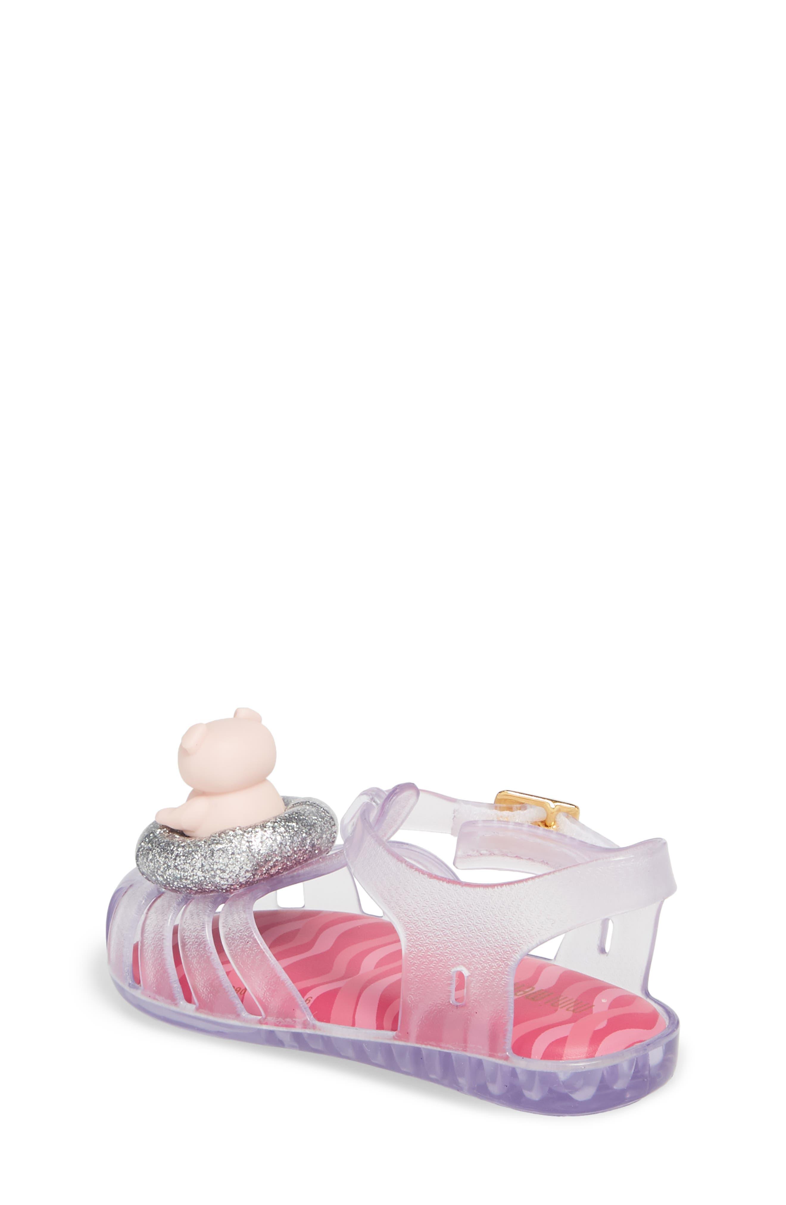 Alternate Image 2  - Mini Melissa Aranha XI Jelly Sandal (Walker & Toddler)