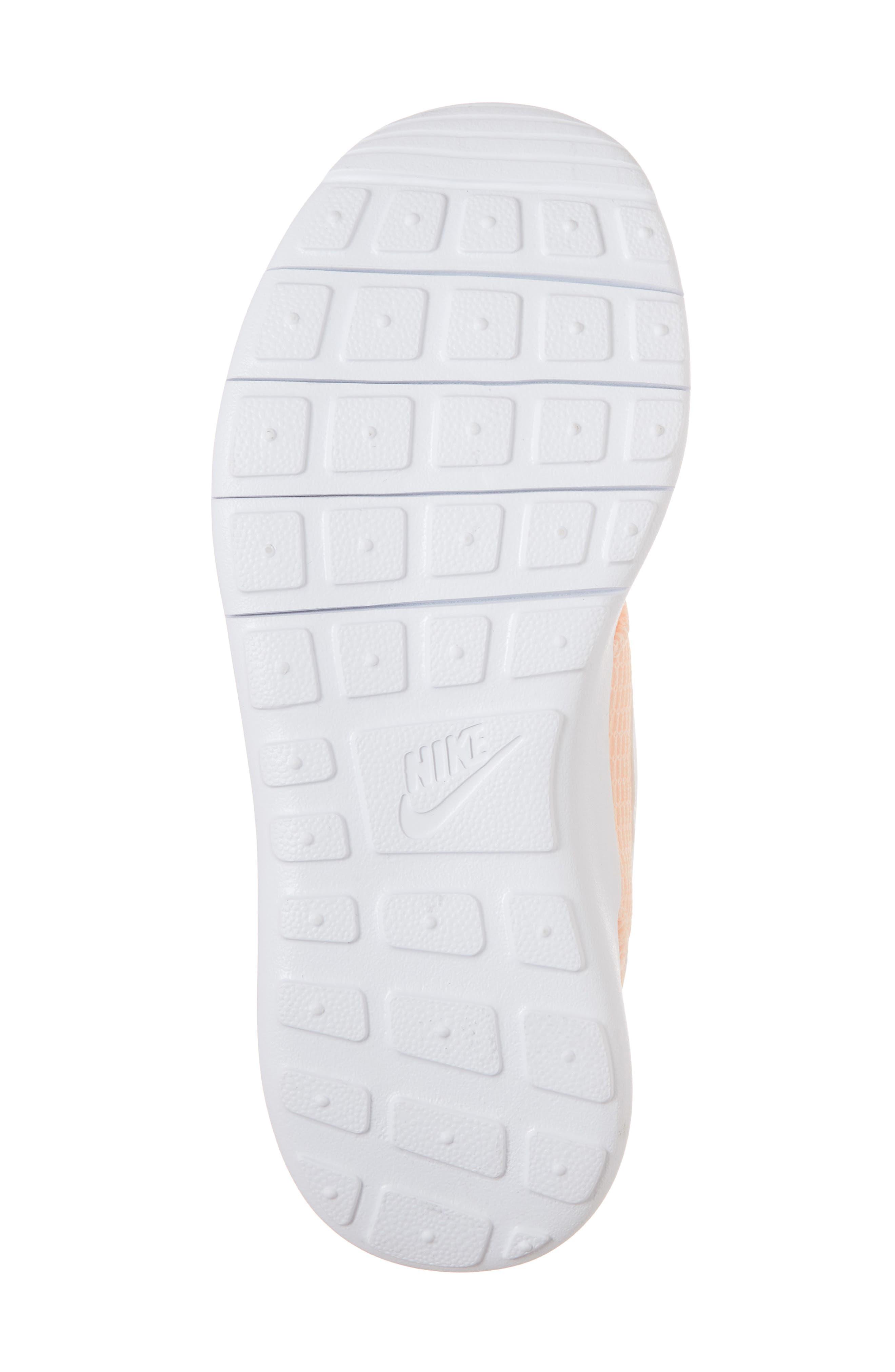 'Roshe Run' Athletic Shoe,                             Alternate thumbnail 6, color,                             Crimson Tint/ White