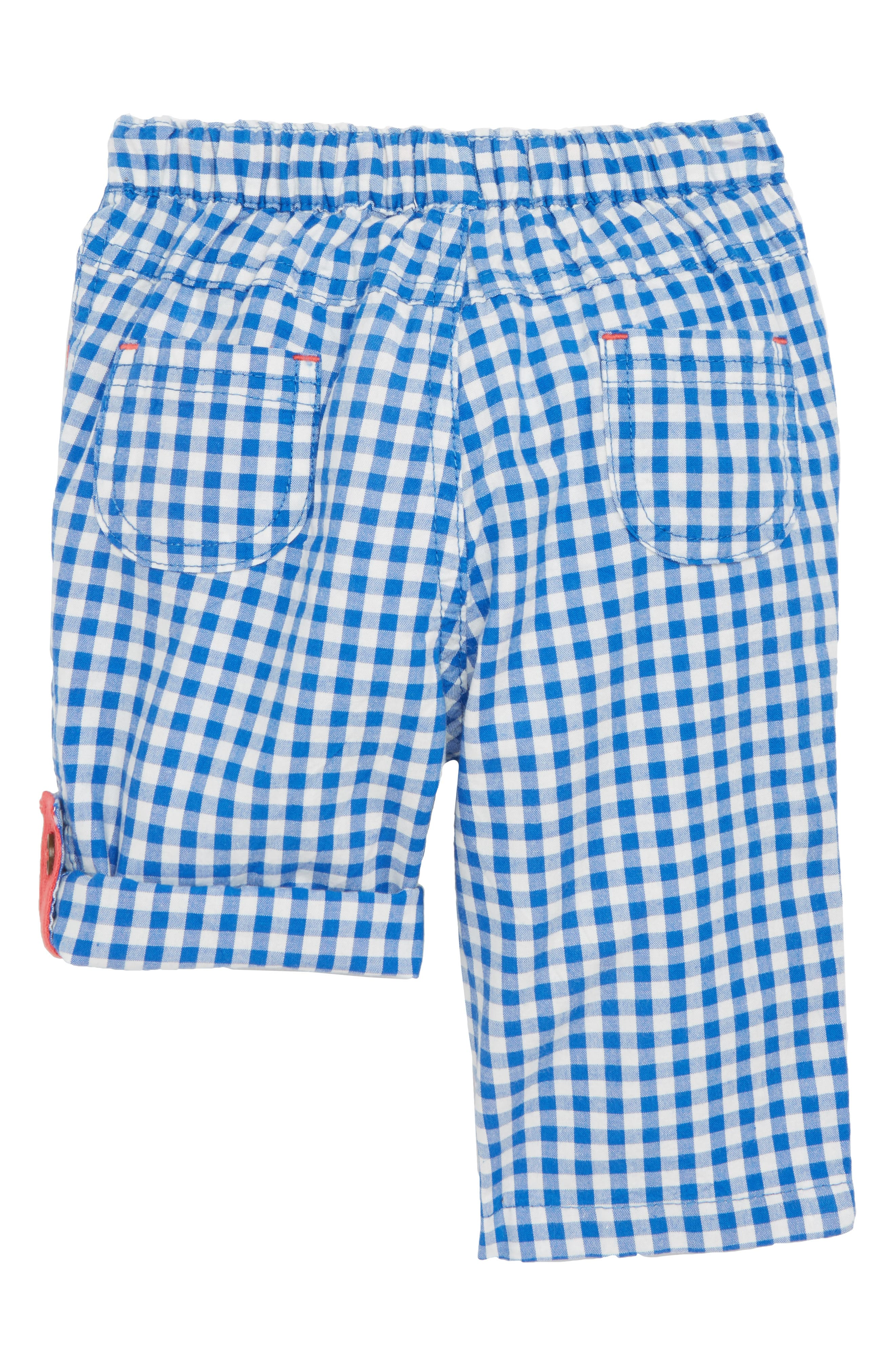 Roll-Up Trouser,                             Alternate thumbnail 2, color,                             Skipper Blue Gingham