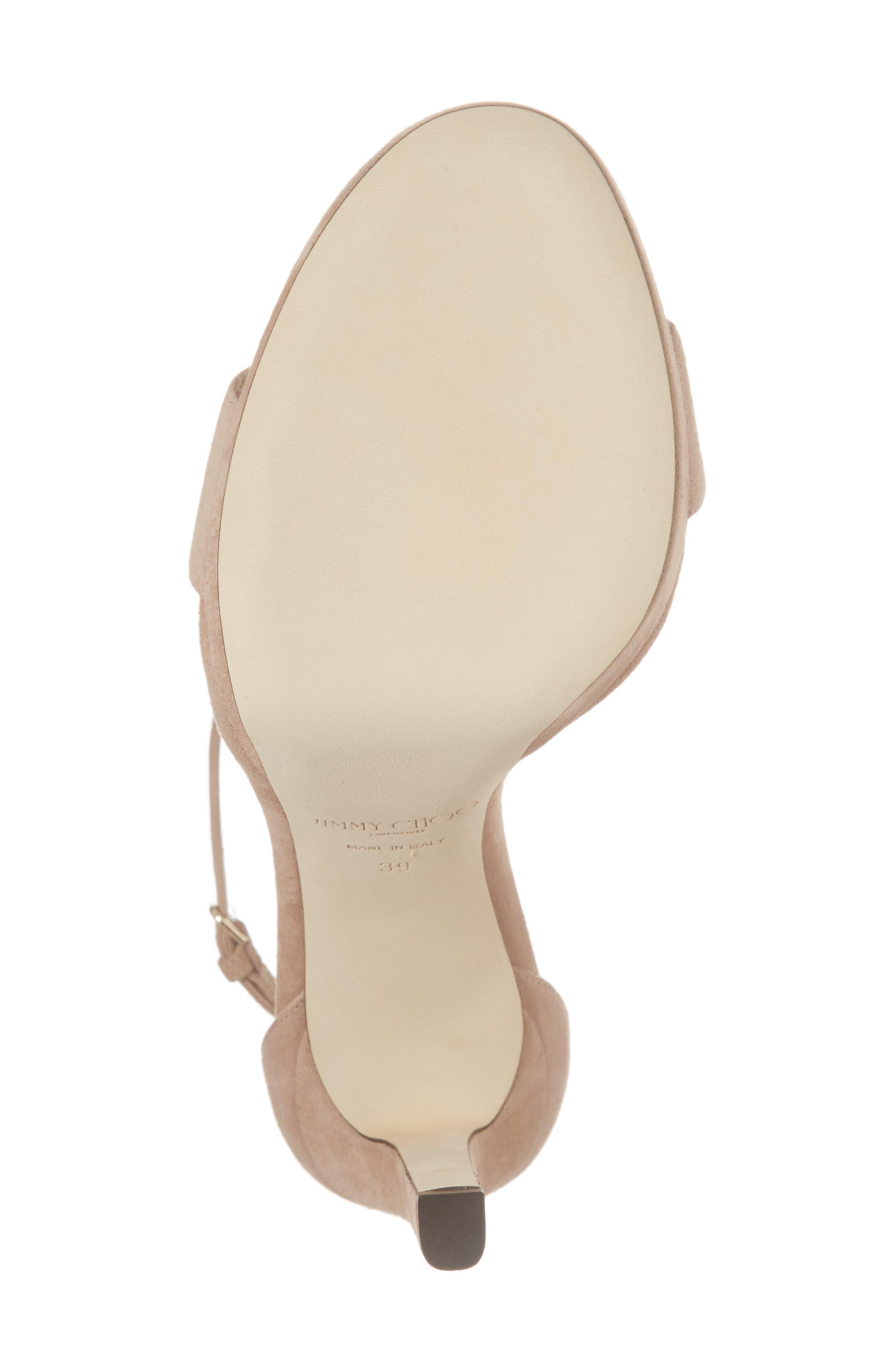 Misty Platform Sandal,                             Alternate thumbnail 6, color,                             Ballet Pink