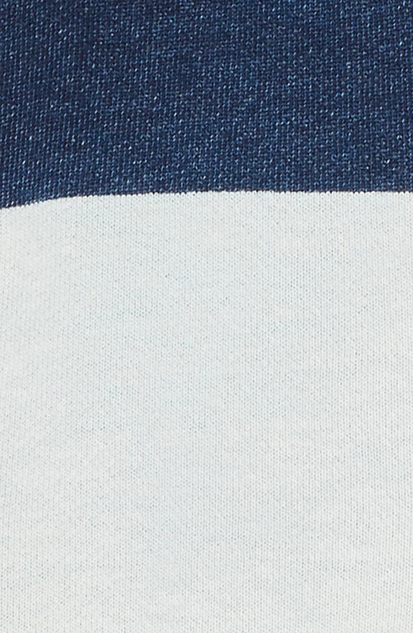 Embroidered Jersey Shorts,                             Alternate thumbnail 2, color,                             Rinse/ Mid Indigo