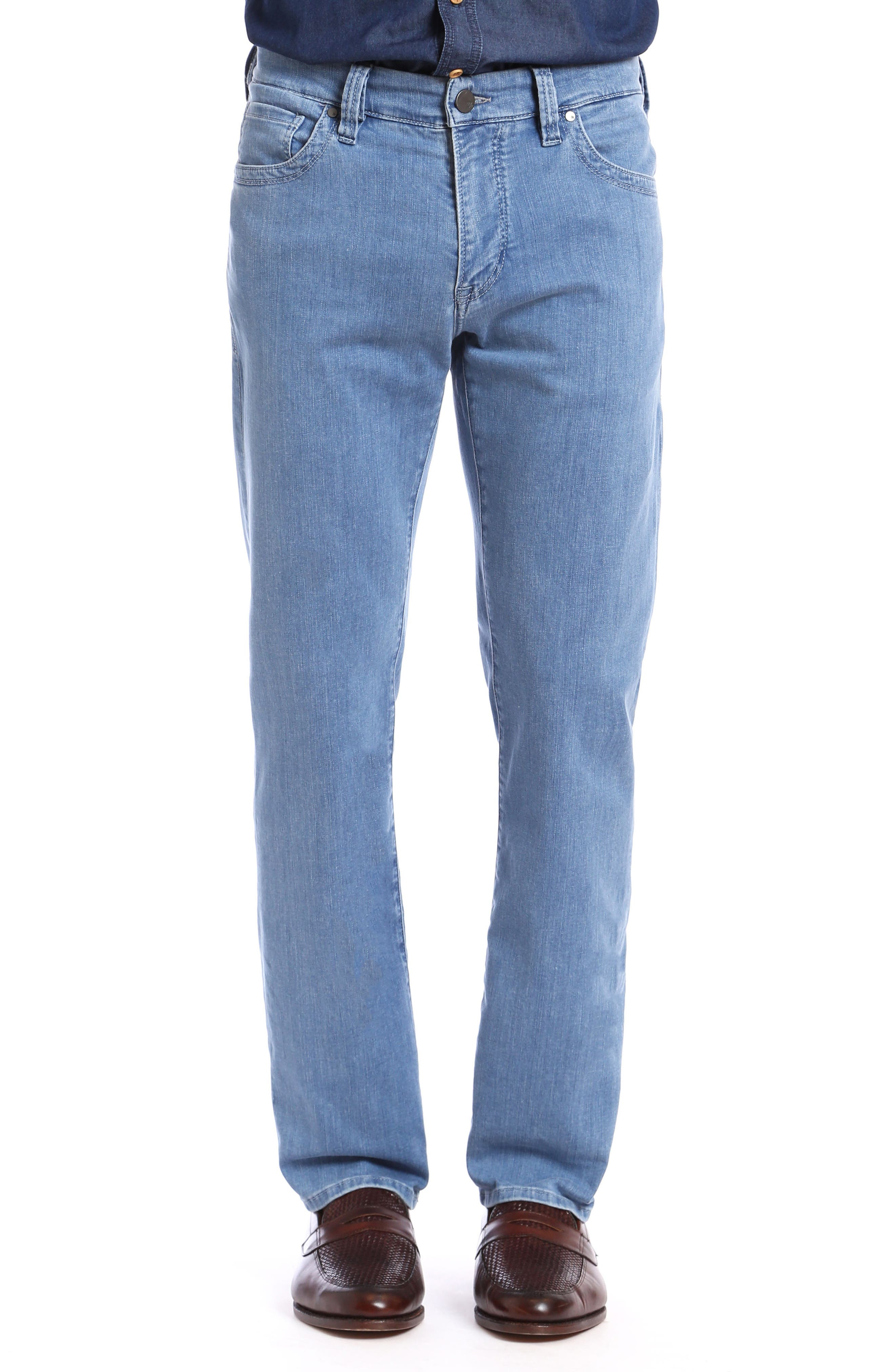 34 Heritage Charisma Relaxed Fit jeans (Light Milan)