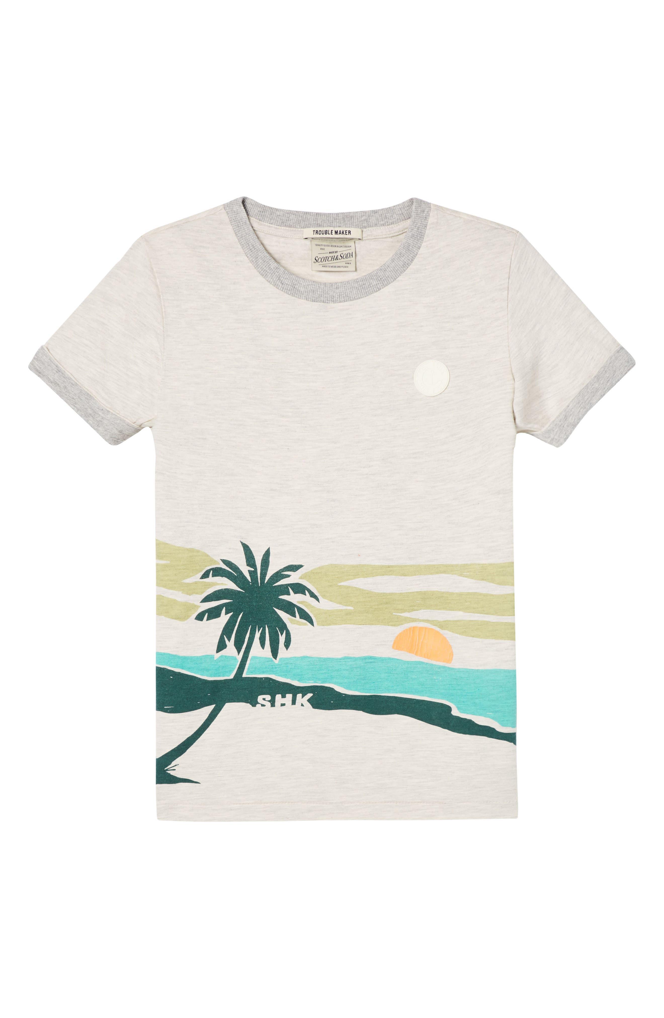 Scotch Shrunk Screenprint T-Shirt (Little Boys & Big Boys)