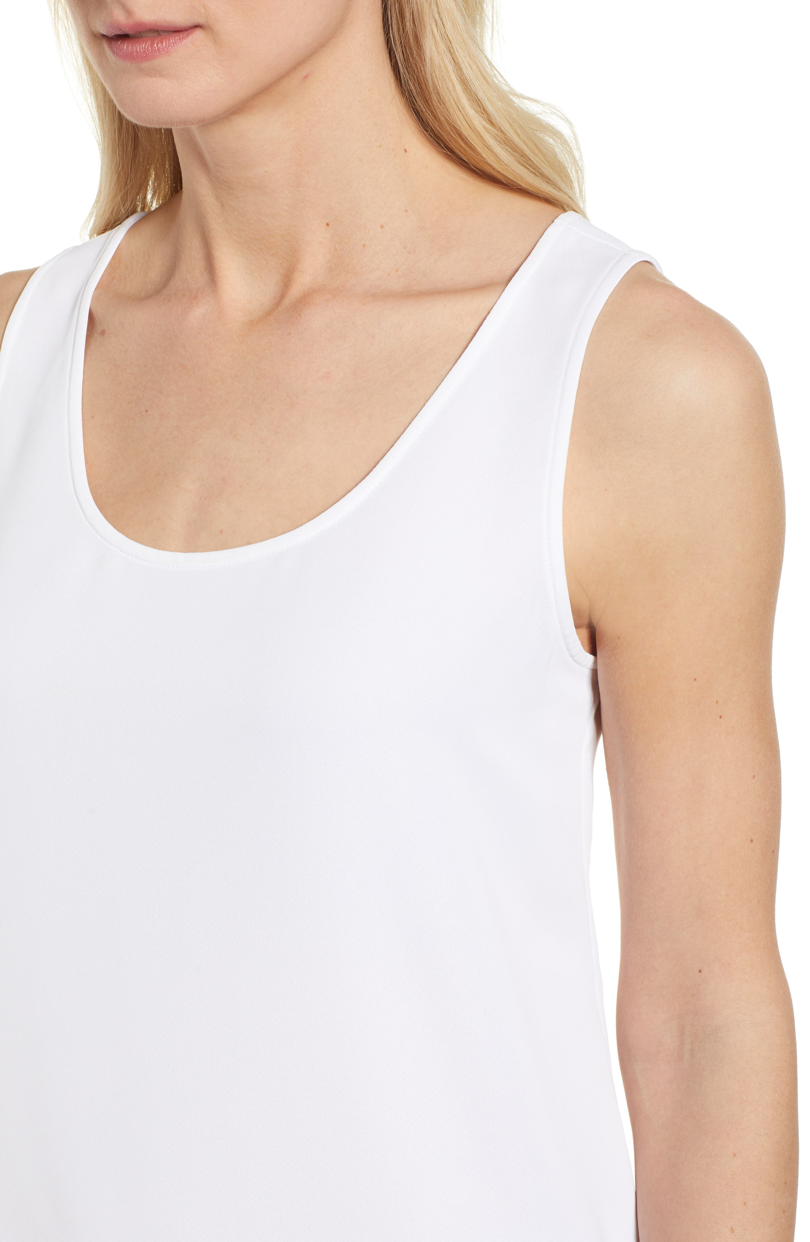 Moroccan Tank,                             Alternate thumbnail 4, color,                             Paper White