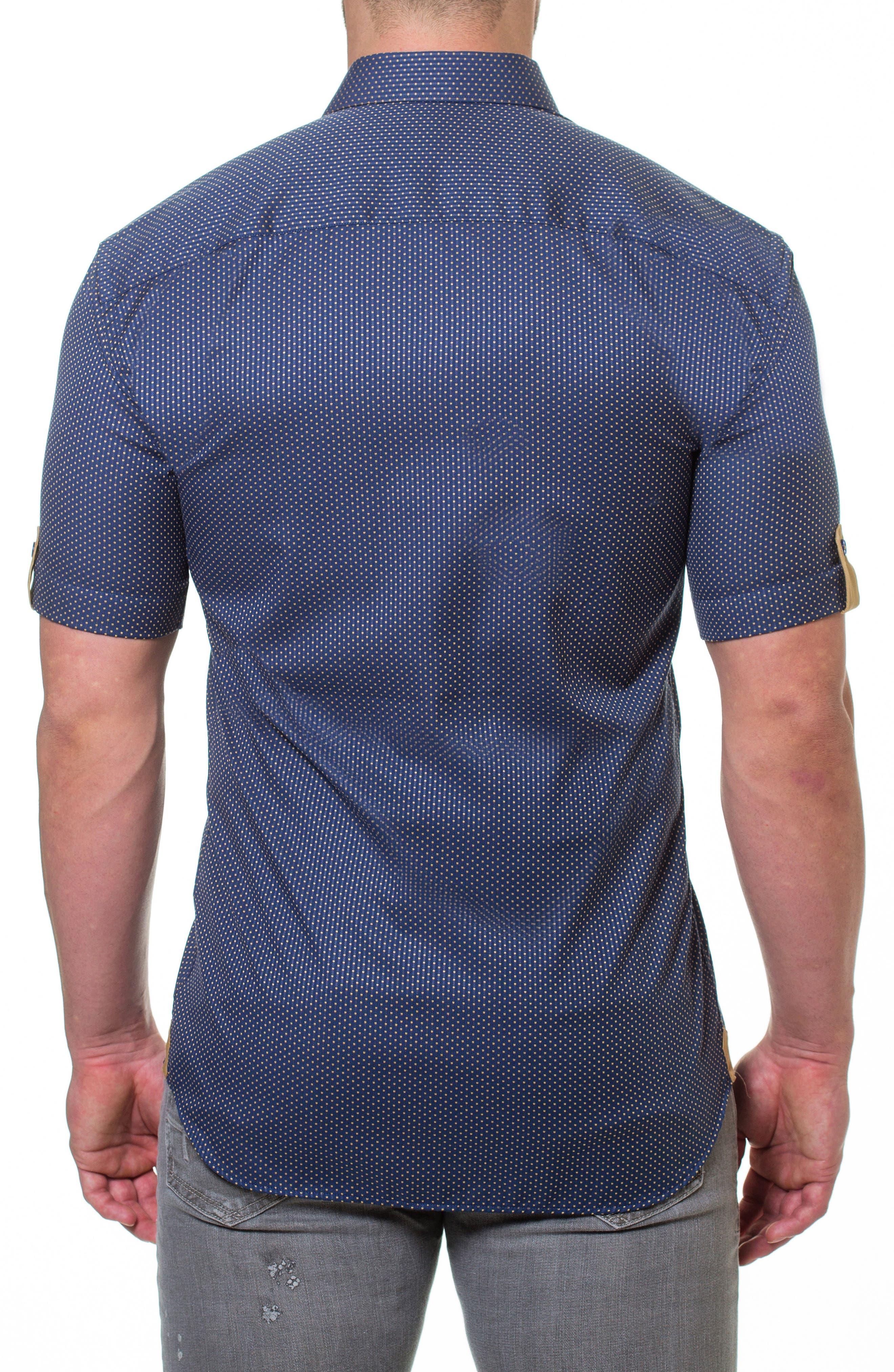 Fresh Pace Slim Fit Sport Shirt,                             Alternate thumbnail 2, color,                             Blue