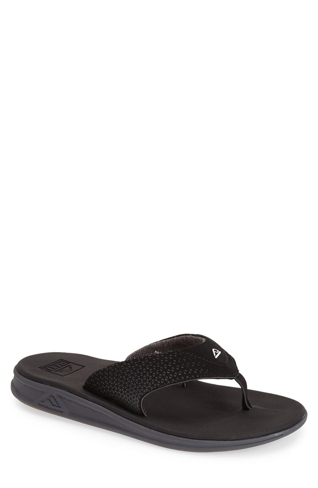 'Rover' Flip Flop,                             Main thumbnail 1, color,                             Black