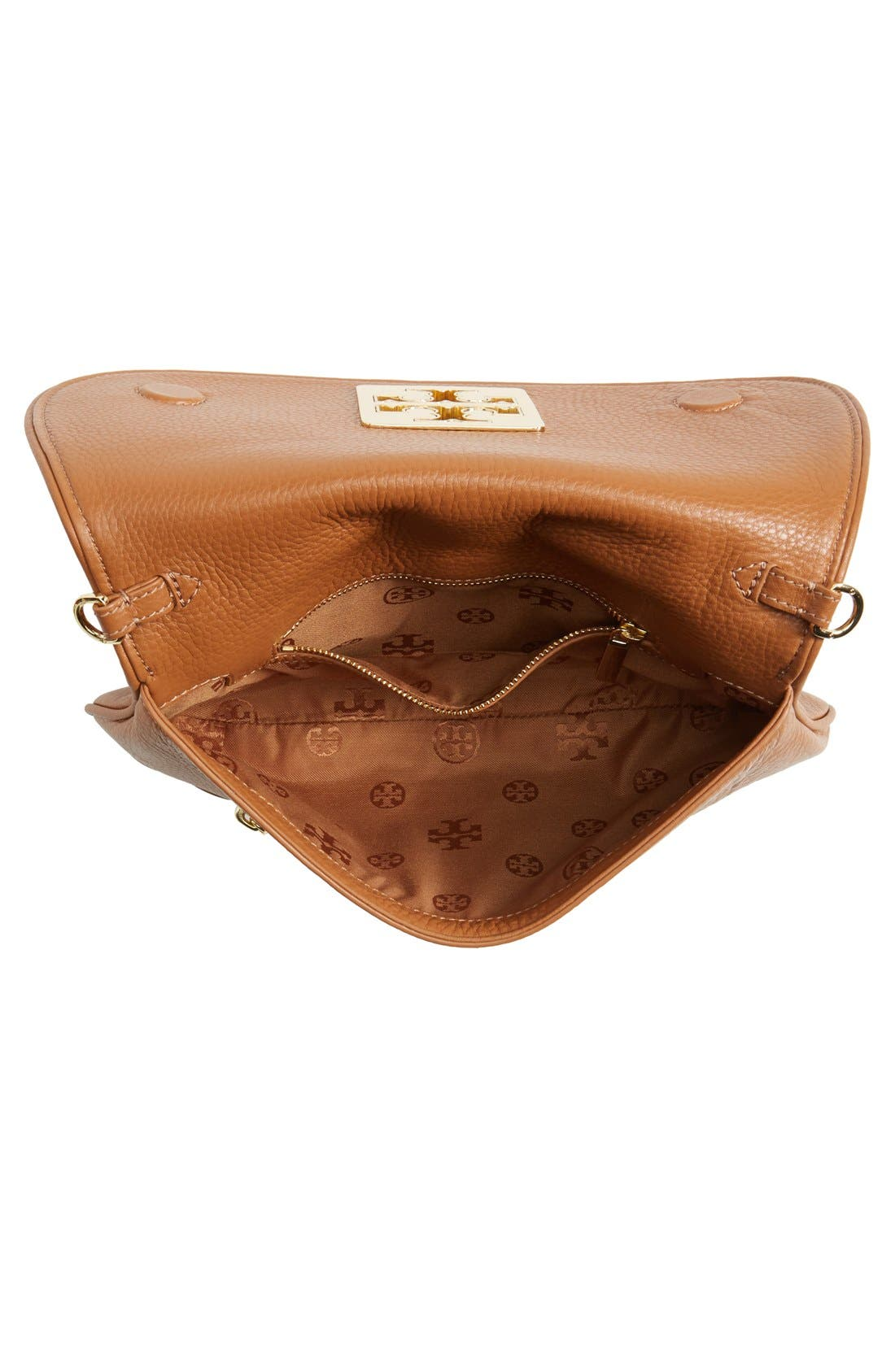 Alternate Image 4  - Tory Burch 'Britten' Leather Clutch