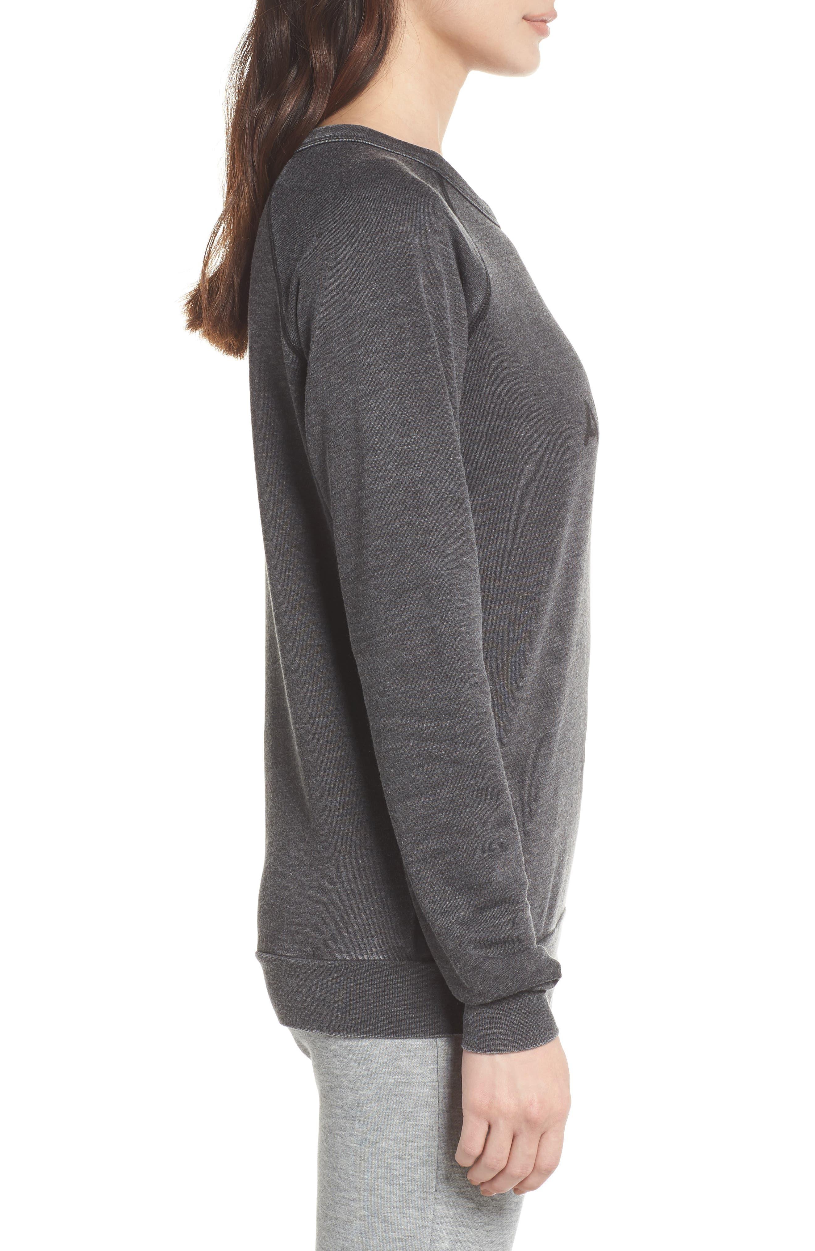 Alternate Image 3  - The Laundry Room Airplane Mode Cozy Lounge Sweatshirt