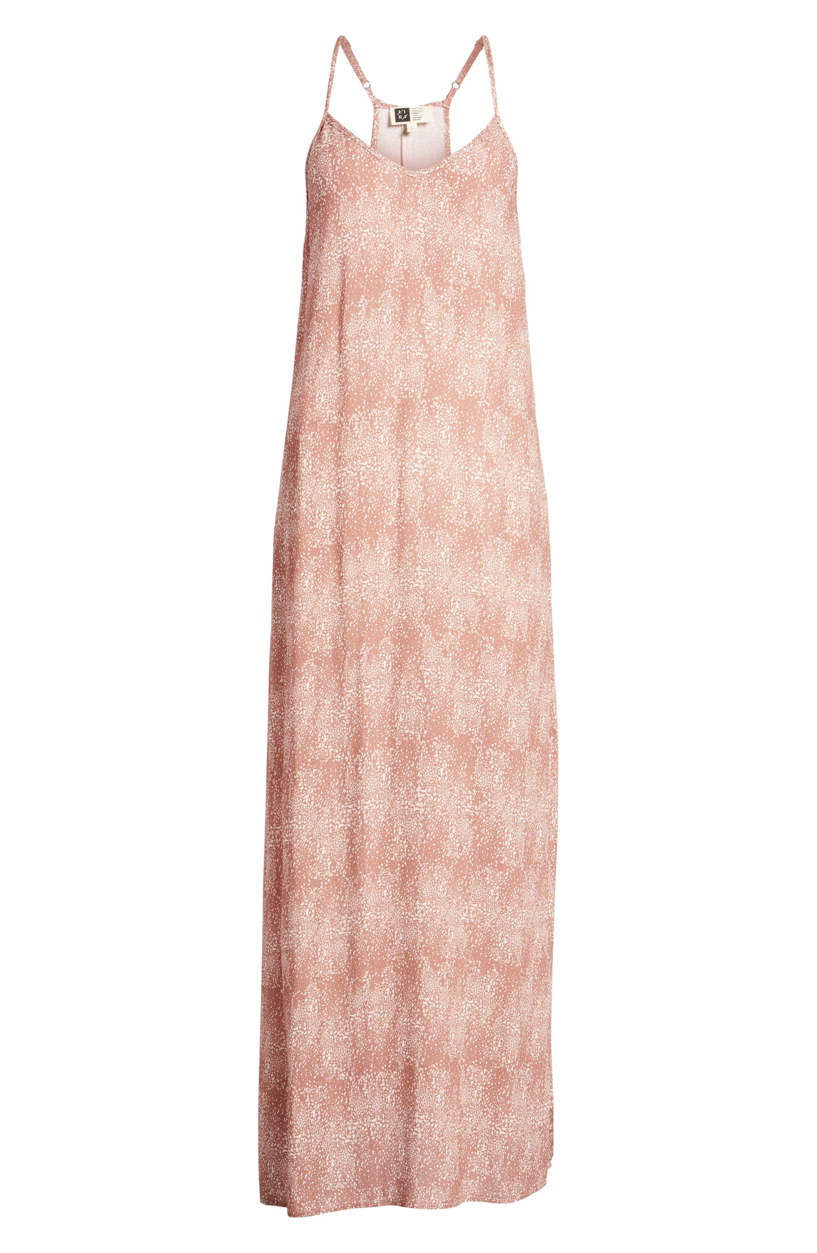 Misty Morning Maxi Dress,                             Alternate thumbnail 7, color,                             Nutmeg