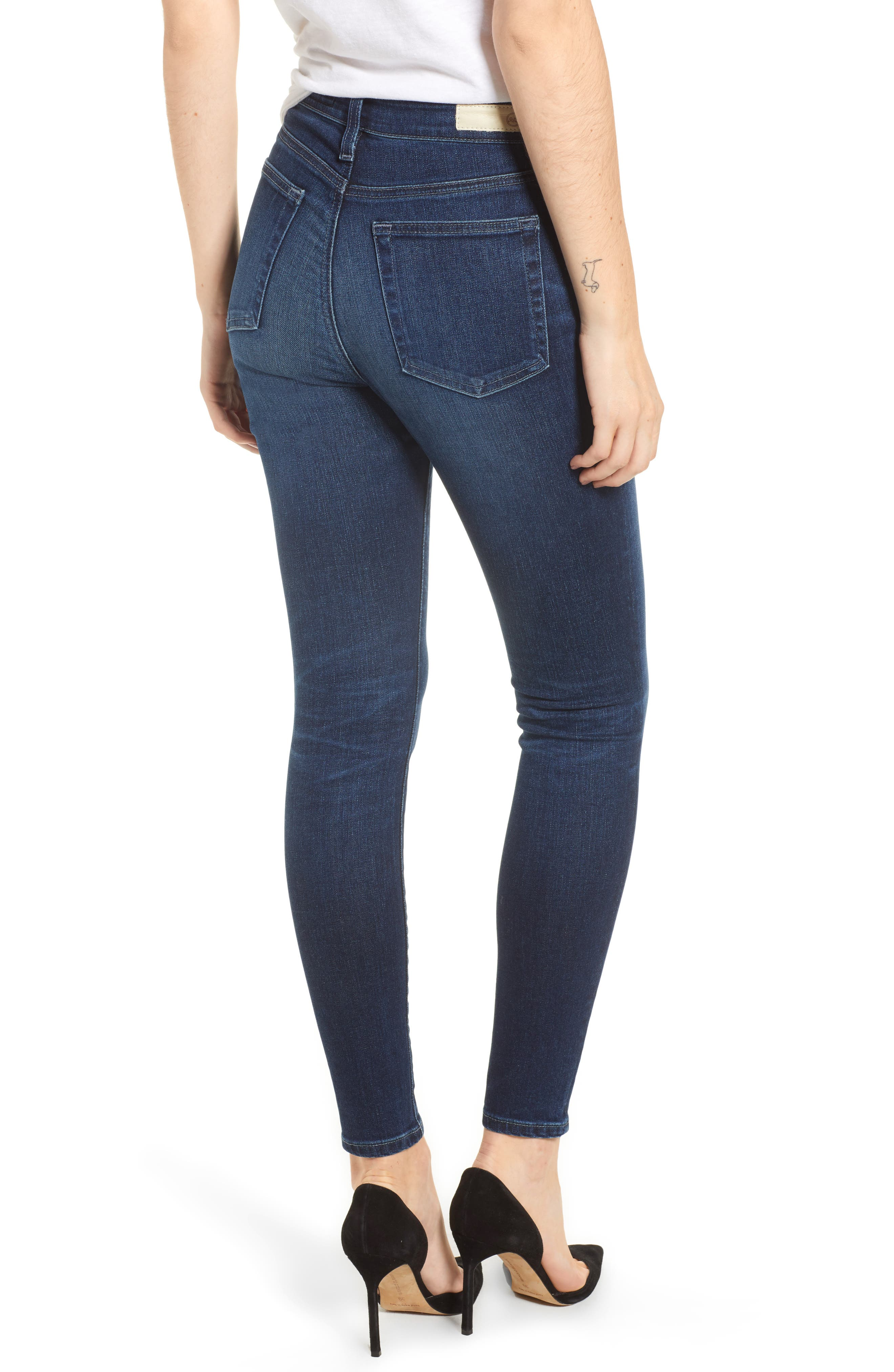 Mila Ankle Skinny Jeans,                             Alternate thumbnail 2, color,                             4 Years Deep Willows