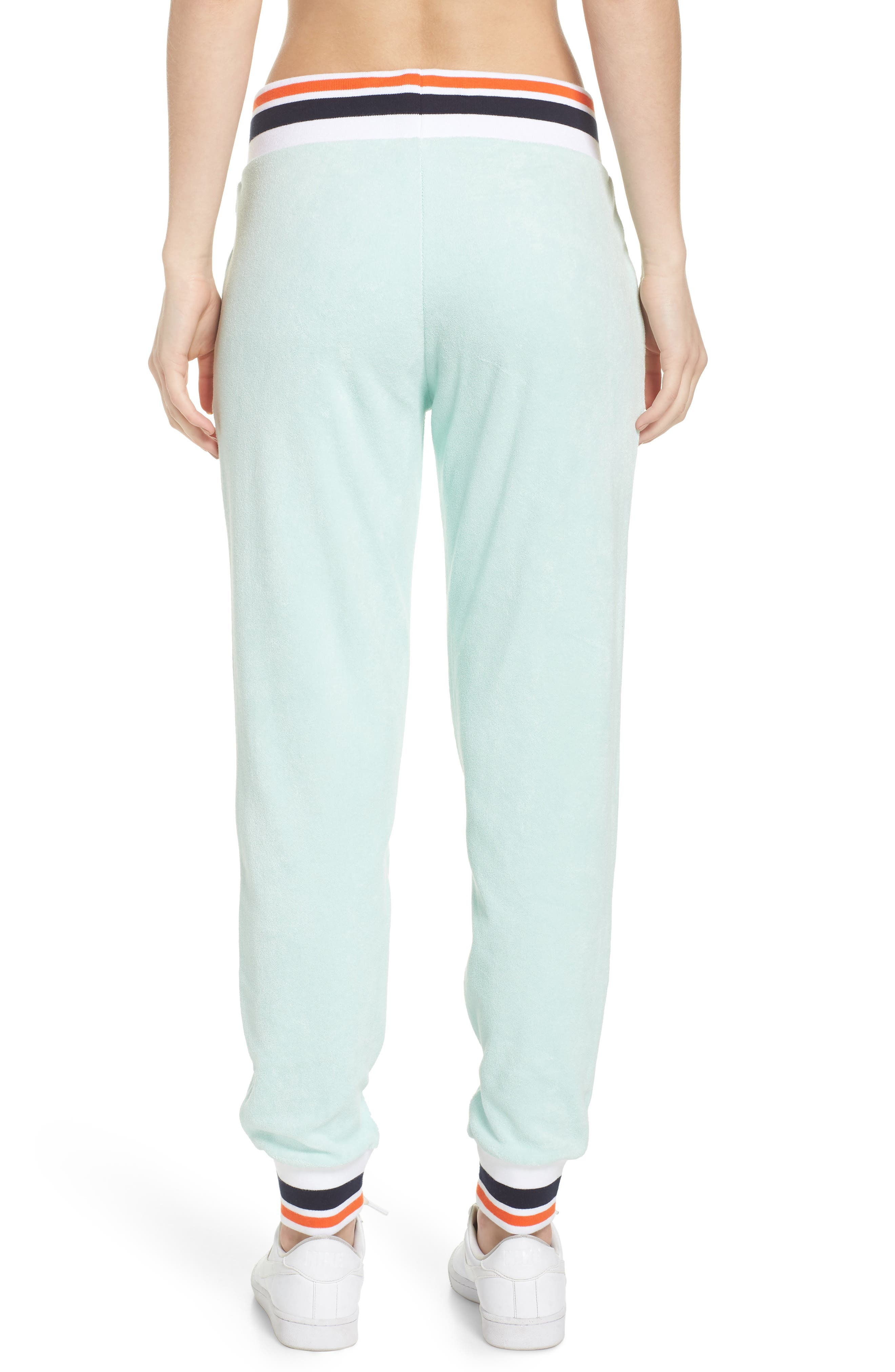 Sportswear French Terry Pants,                             Alternate thumbnail 2, color,                             Igloo/ White
