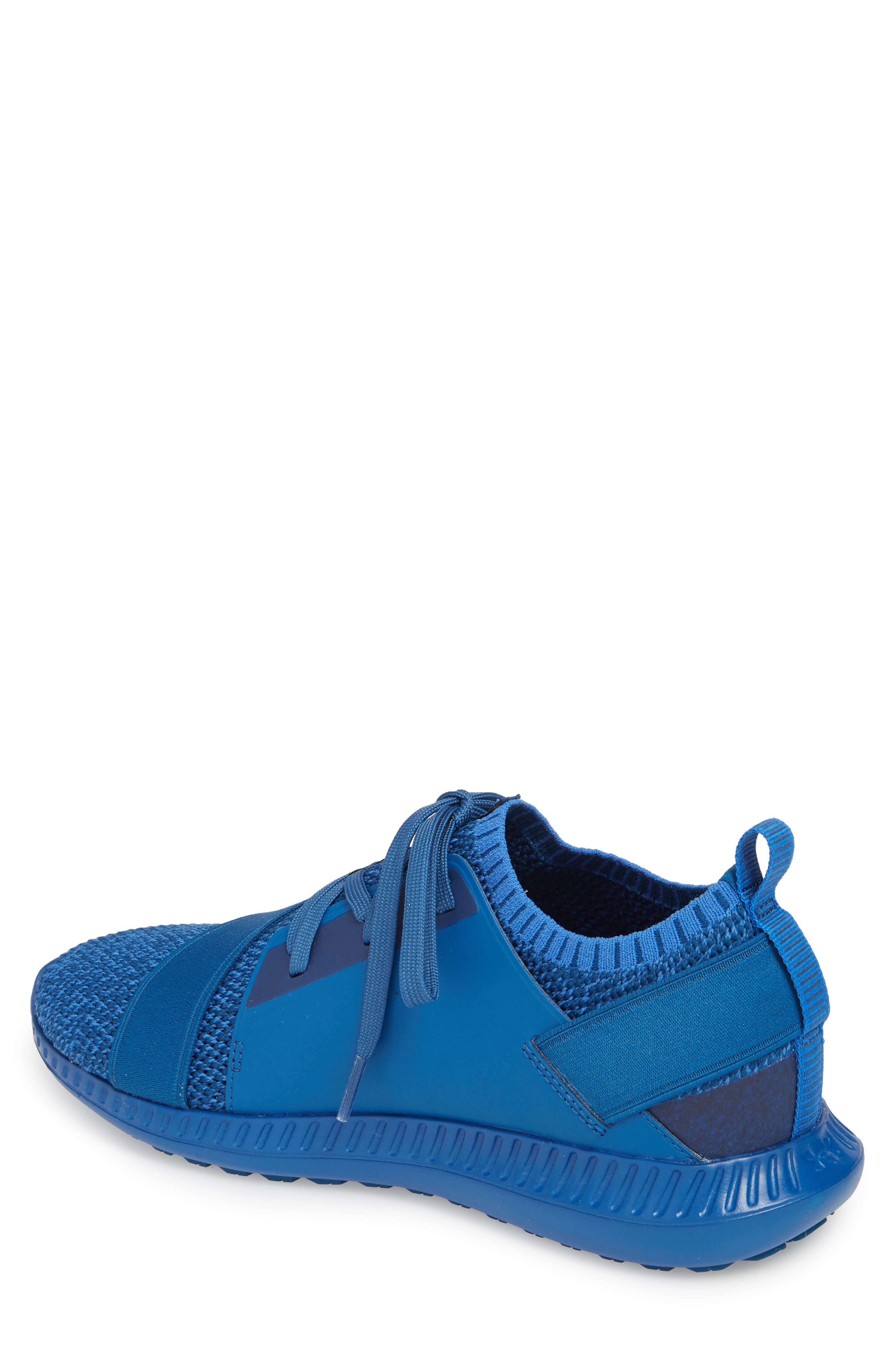 Threadborne Shift Sneaker,                             Alternate thumbnail 2, color,                             Blue / Mediterranean