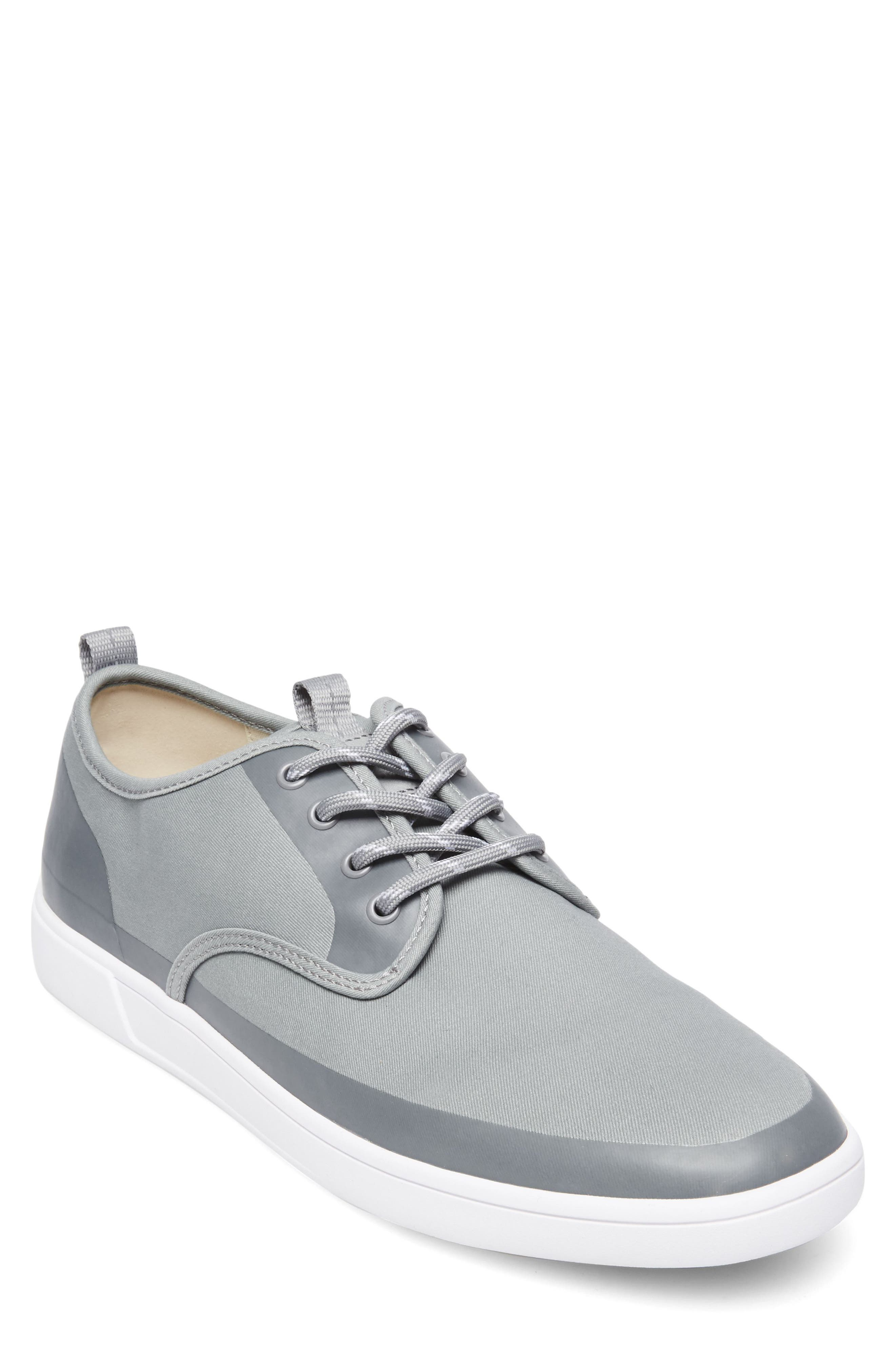 Fayette Low Top Sneaker,                         Main,                         color, Grey Fabric
