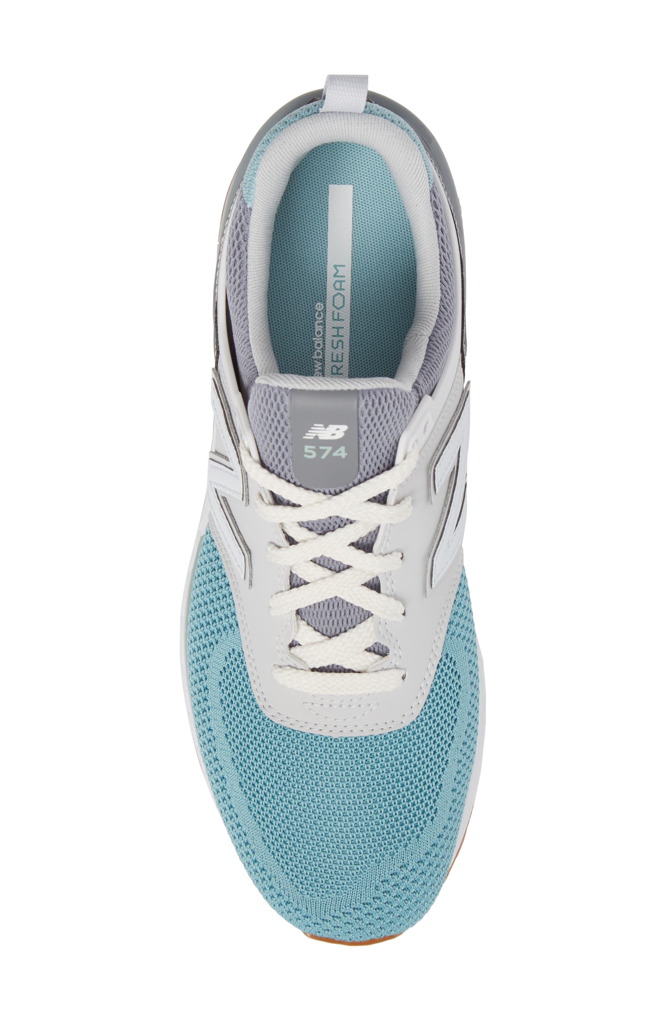 574 Fresh Foam Sport Sneaker,                             Alternate thumbnail 5, color,                             Gunmetal