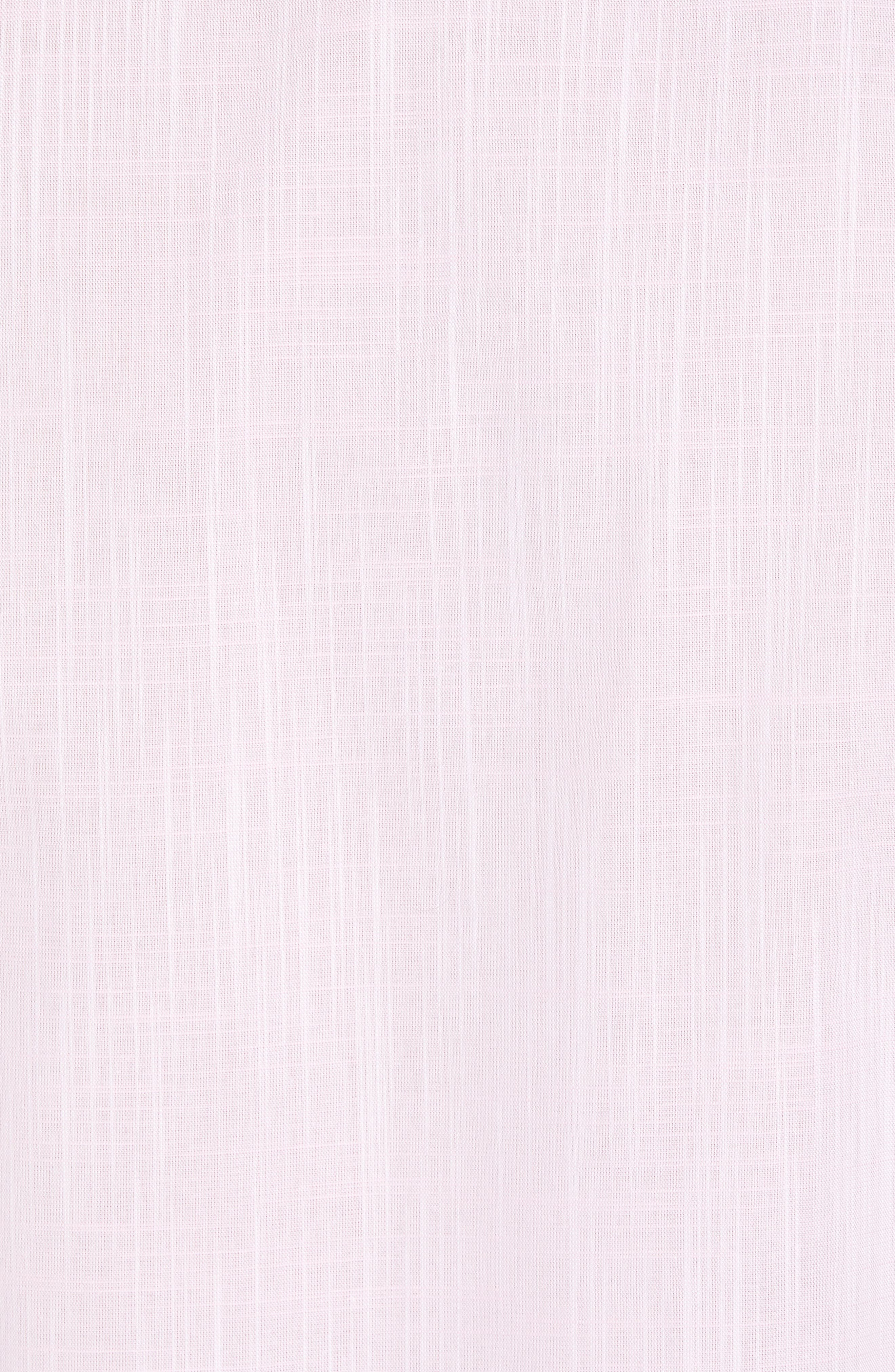 Kade Regular Fit Sport Shirt,                             Alternate thumbnail 5, color,                             Pink