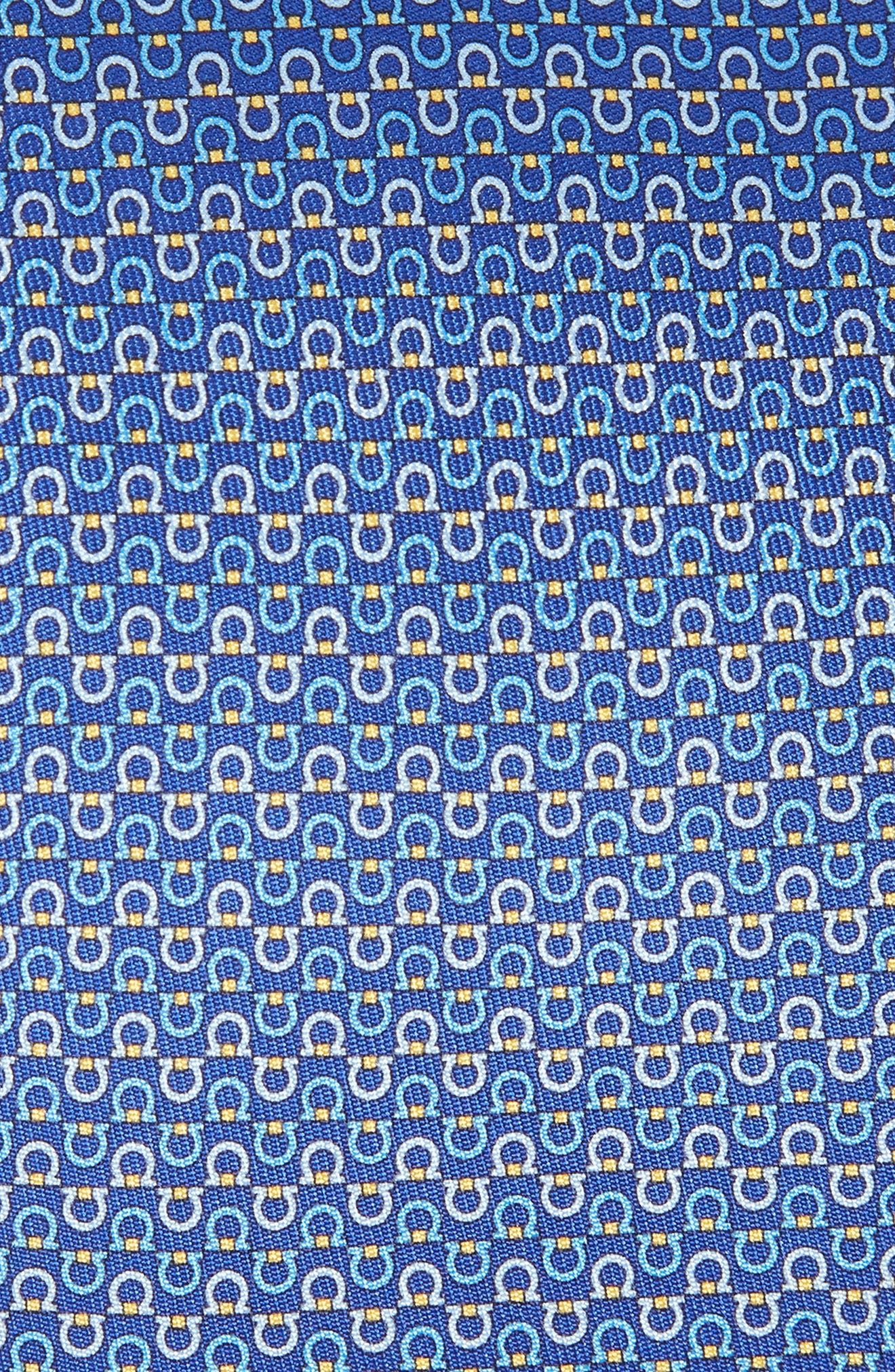 Elisir Print Silk Tie,                             Alternate thumbnail 2, color,                             Blue