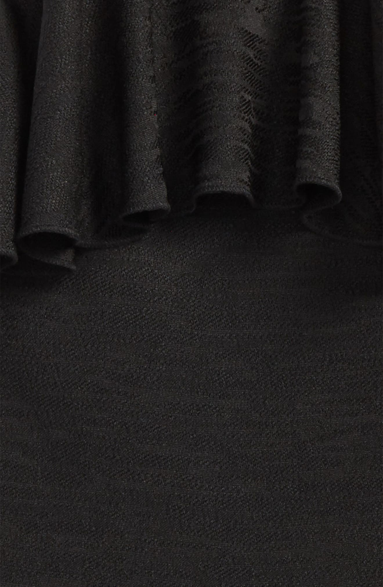 Rona Ruffle Halter Romper,                             Alternate thumbnail 2, color,                             Black