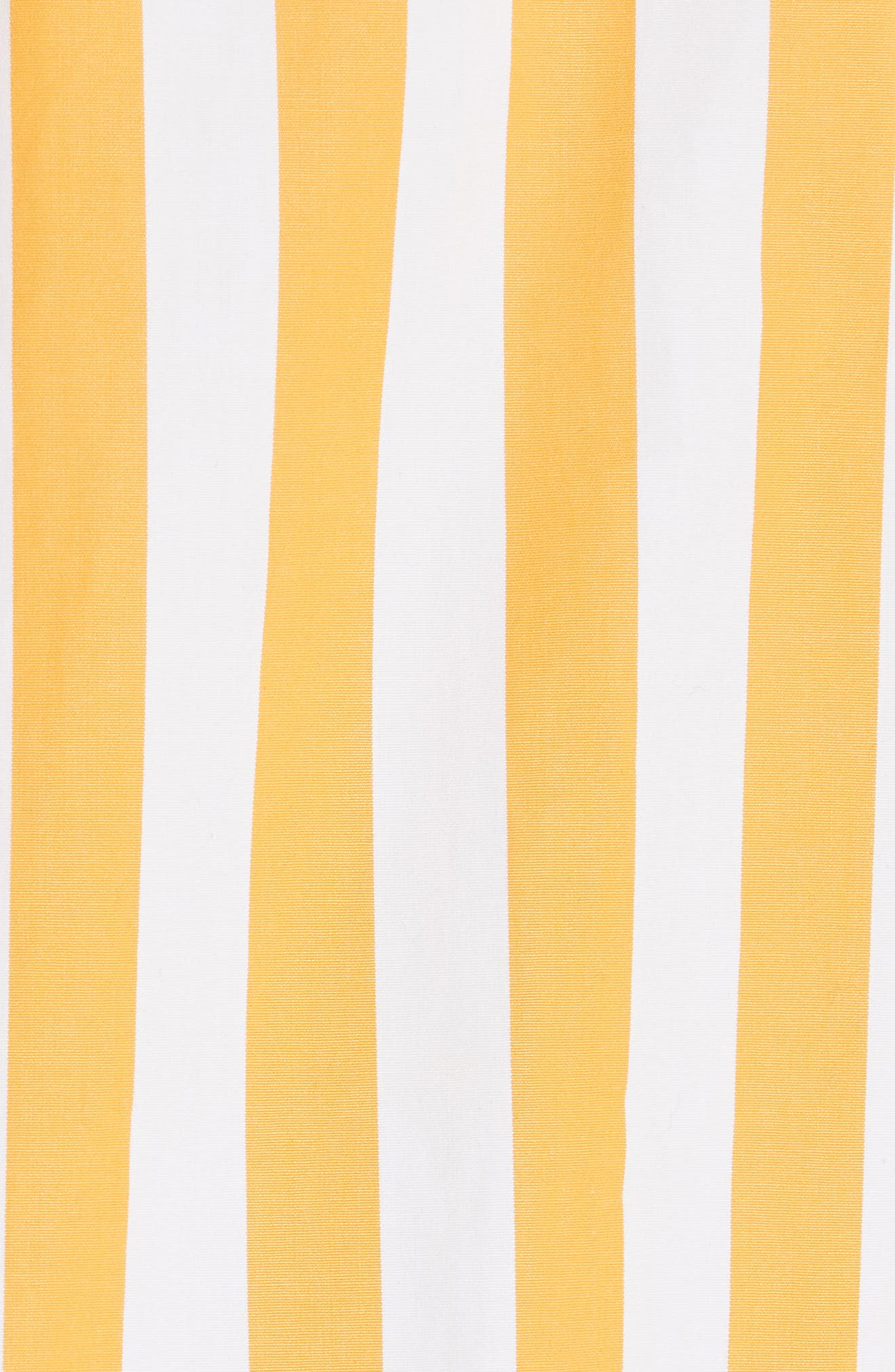 The Keaton Stripe Crop Shirt,                             Alternate thumbnail 5, color,                             White/ Marigold
