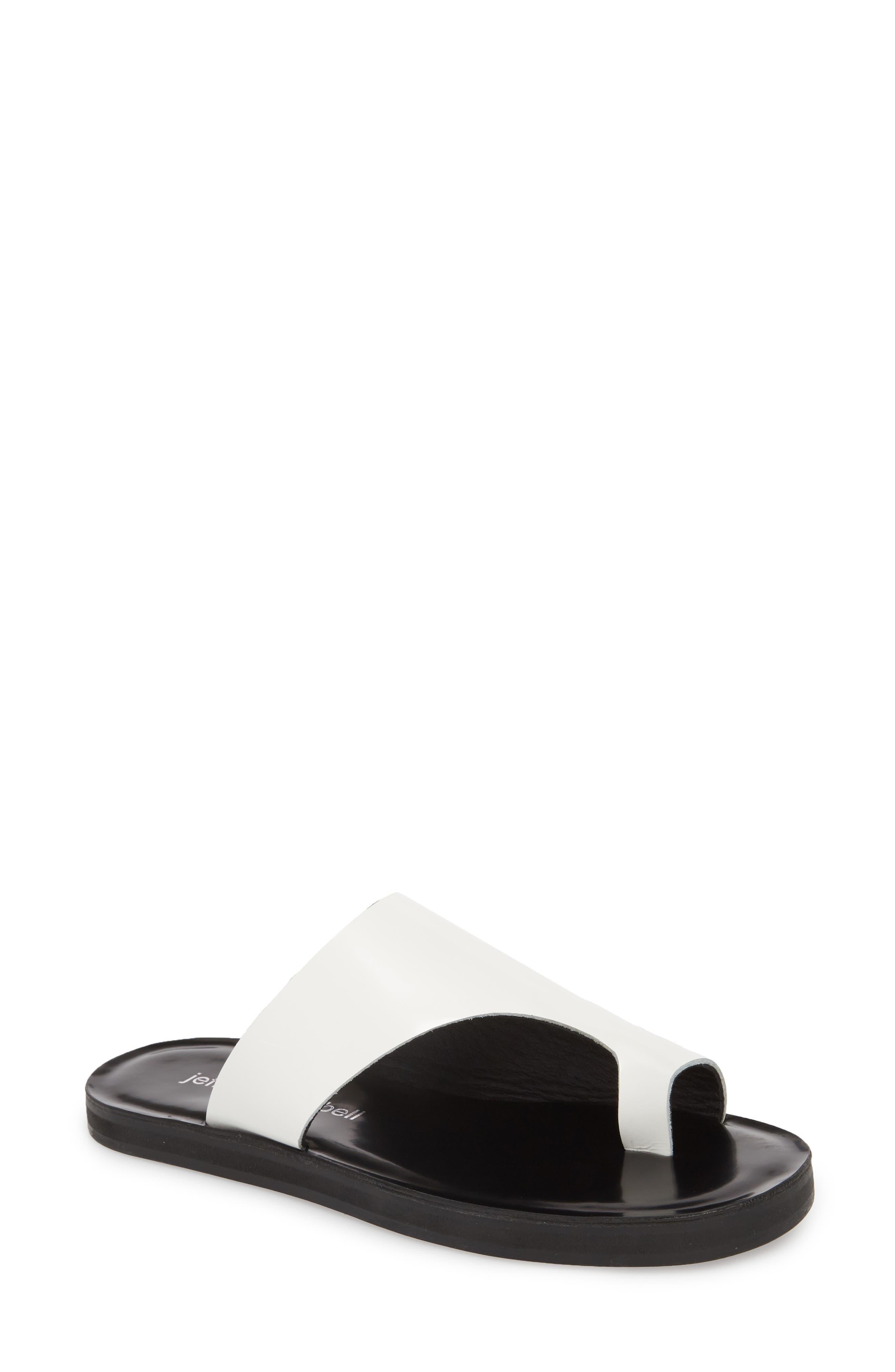 Alternate Image 1 Selected - Jeffrey Campbell Morada Asymmetrical Slide Sandal (Women)