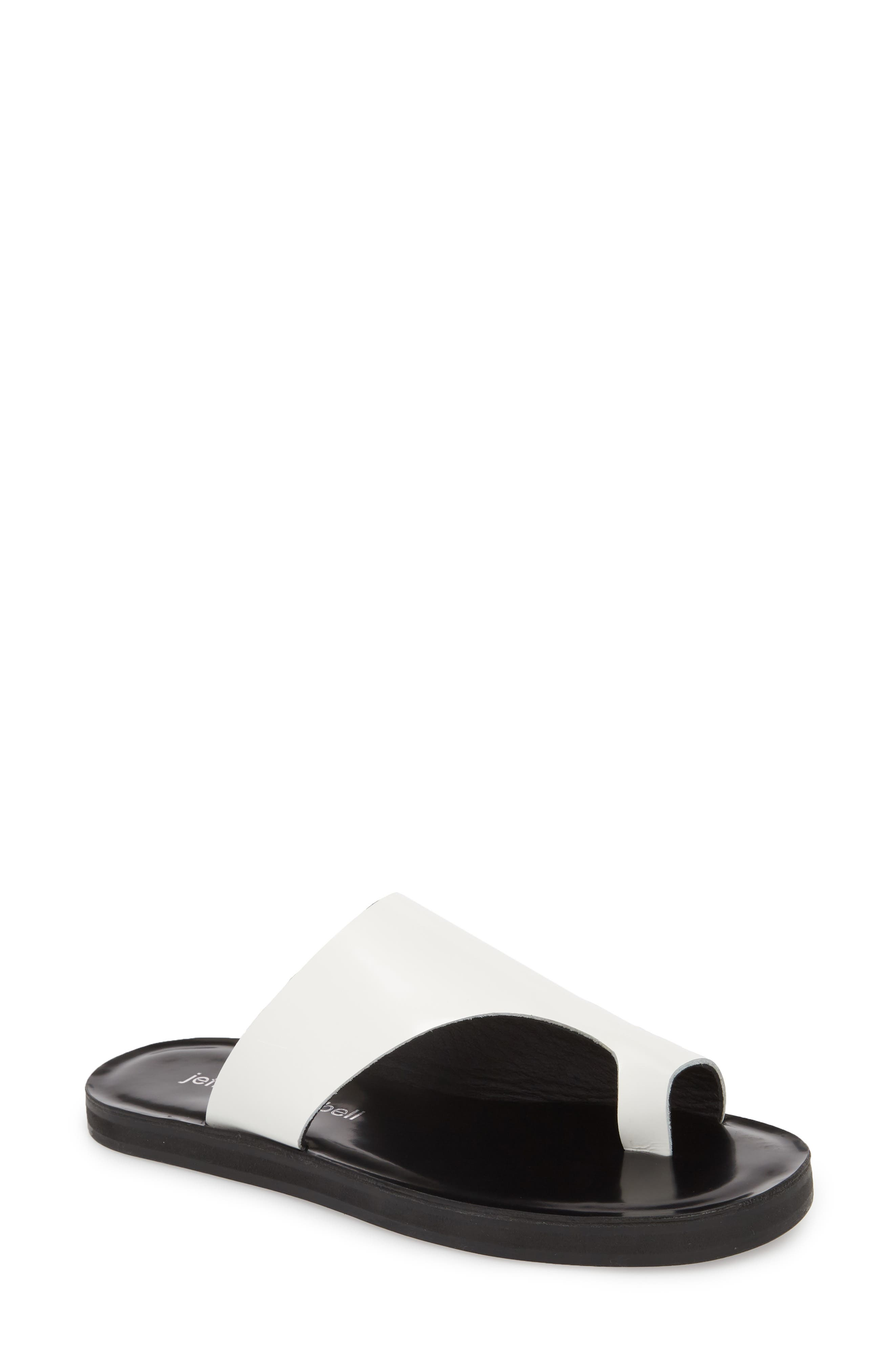 Jeffrey Campbell Morada Asymmetrical Slide Sandal (Women)