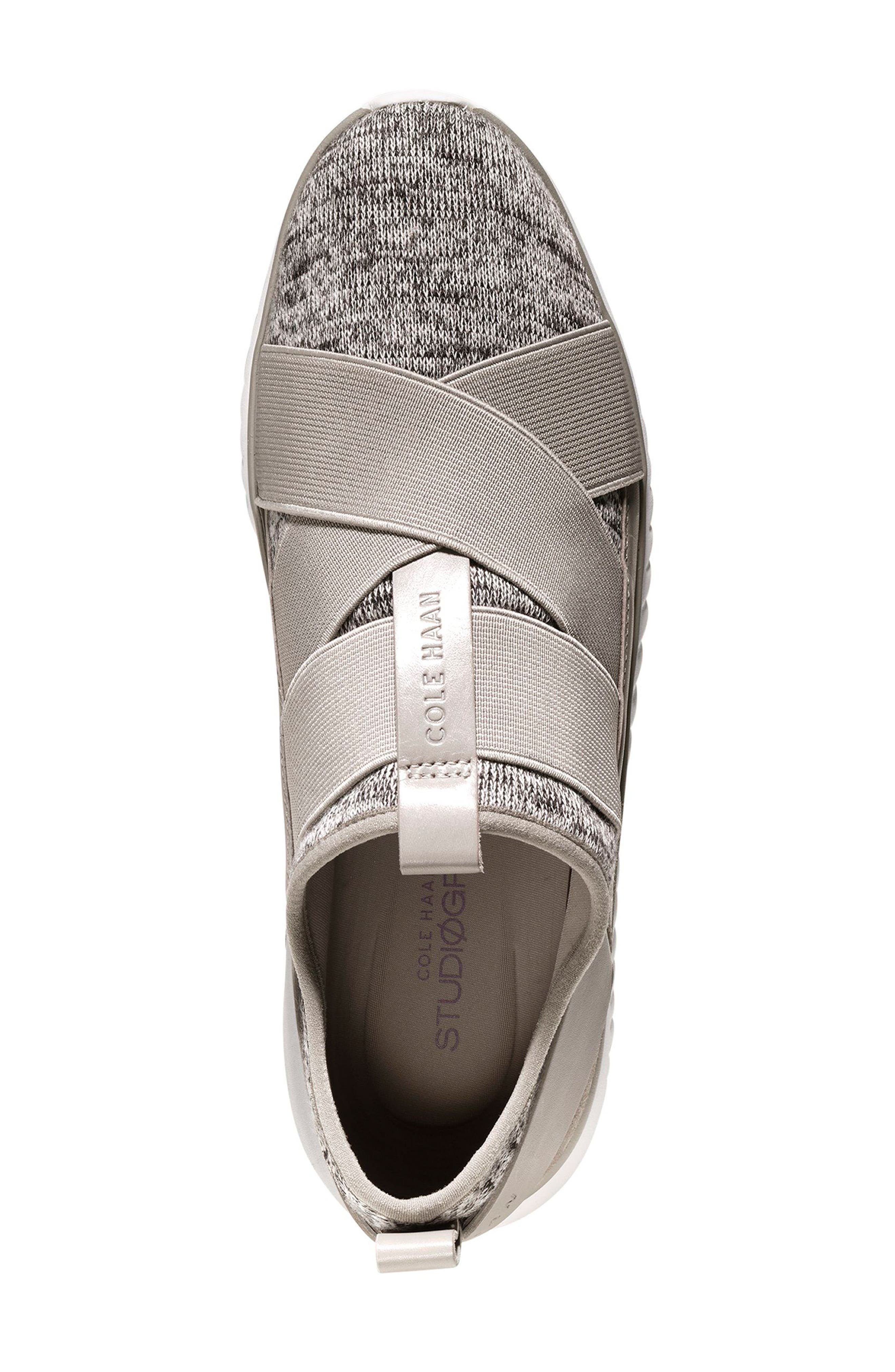 'StudioGrand' Sneaker,                             Alternate thumbnail 4, color,                             Rockridge/ Pumice Stone Fabric