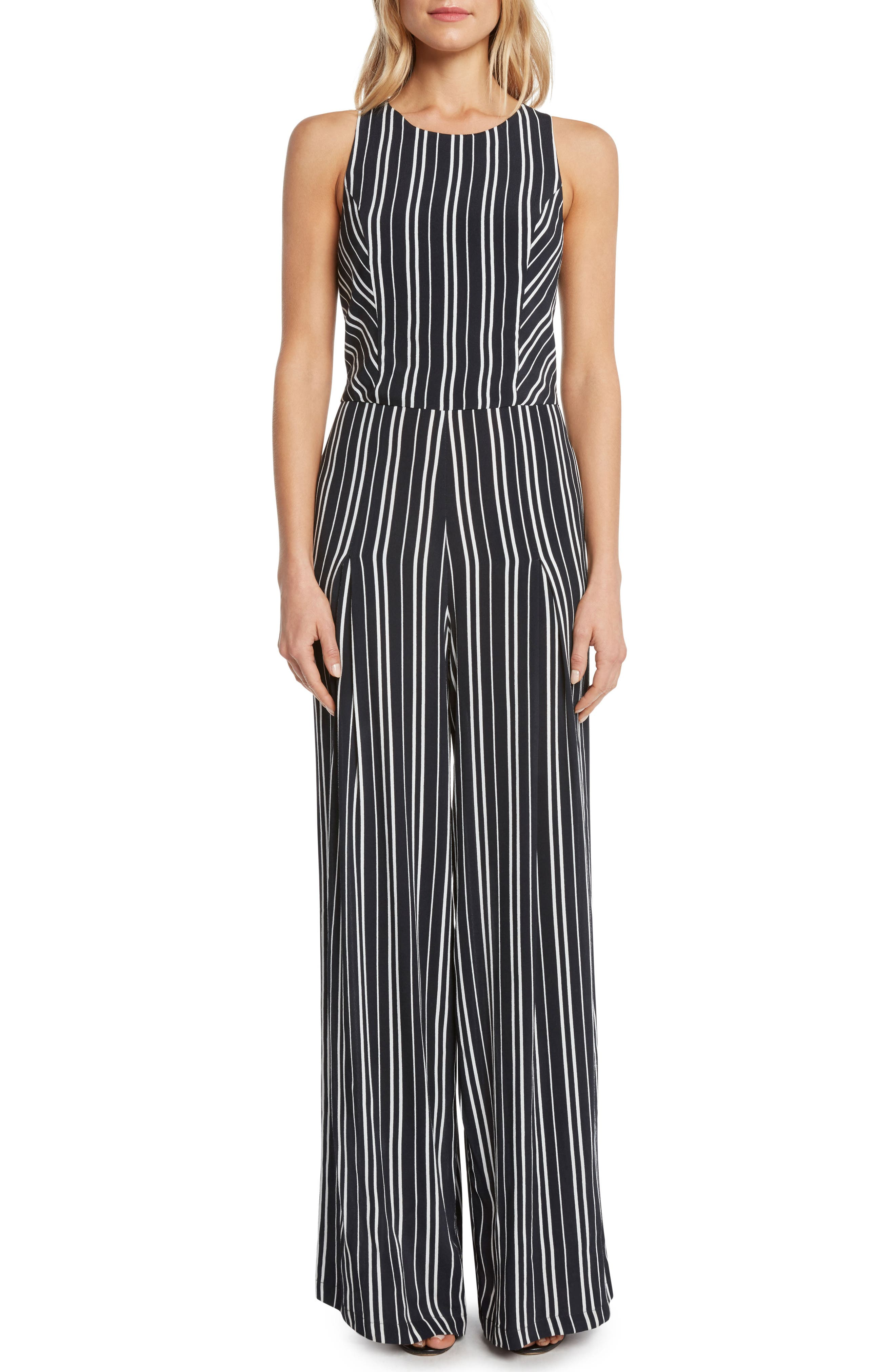 Willow & Clay Stripe Jumpsuit