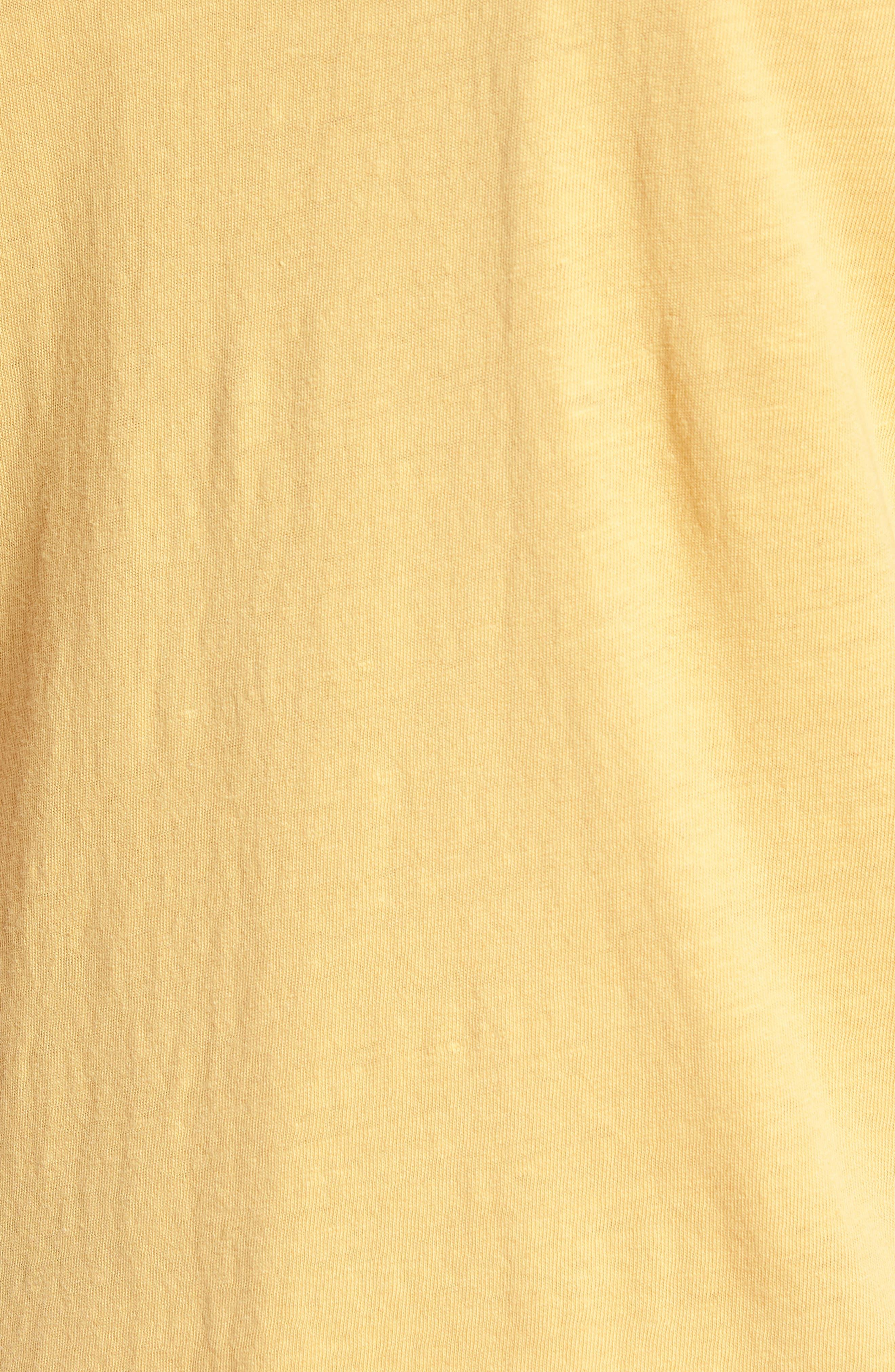 Ramsey Slim Fit Crewneck T-Shirt,                             Alternate thumbnail 5, color,                             Weathered Golden Emmer