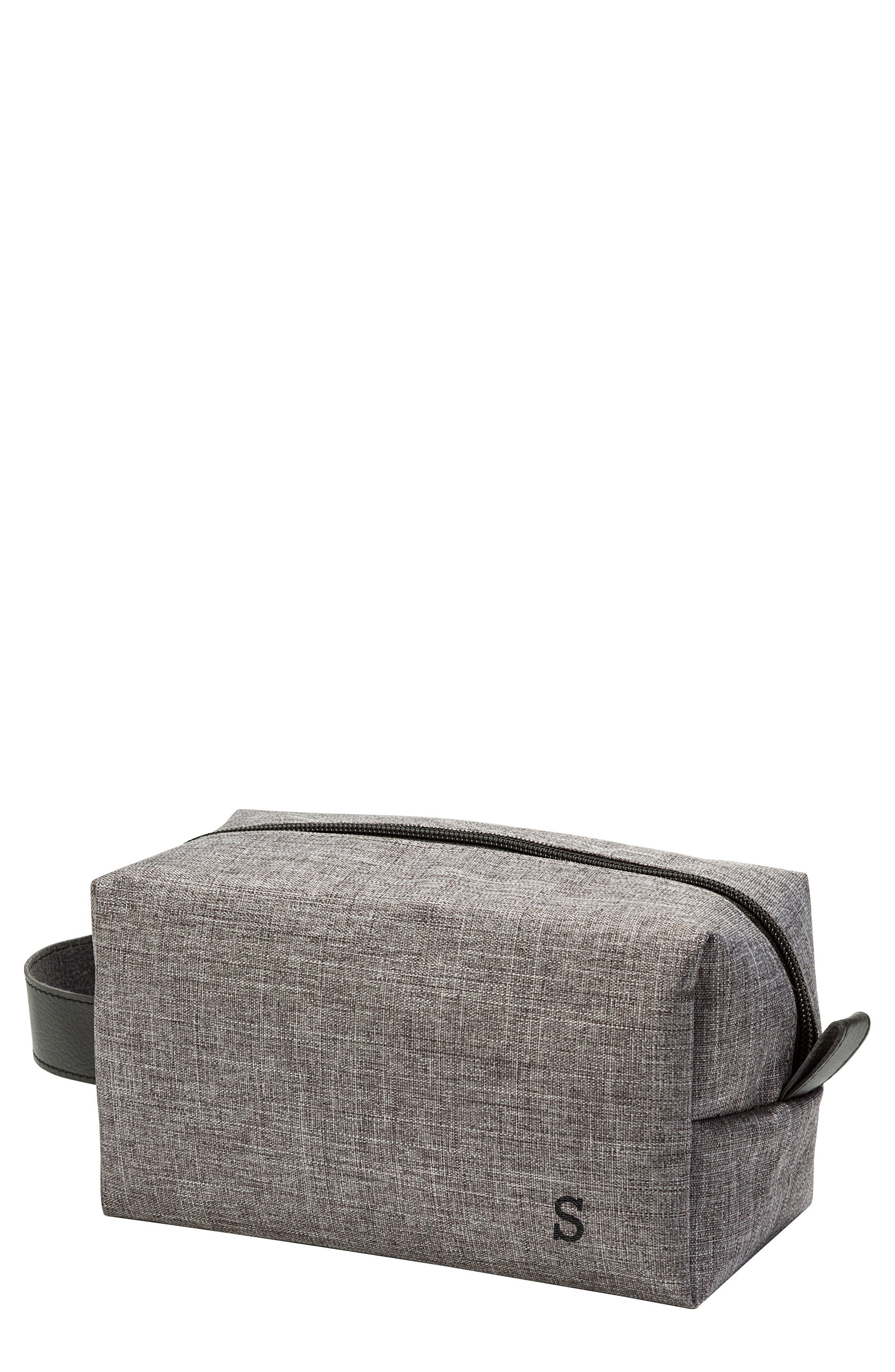 Monogram Dopp Travel Kit,                         Main,                         color, Grey S