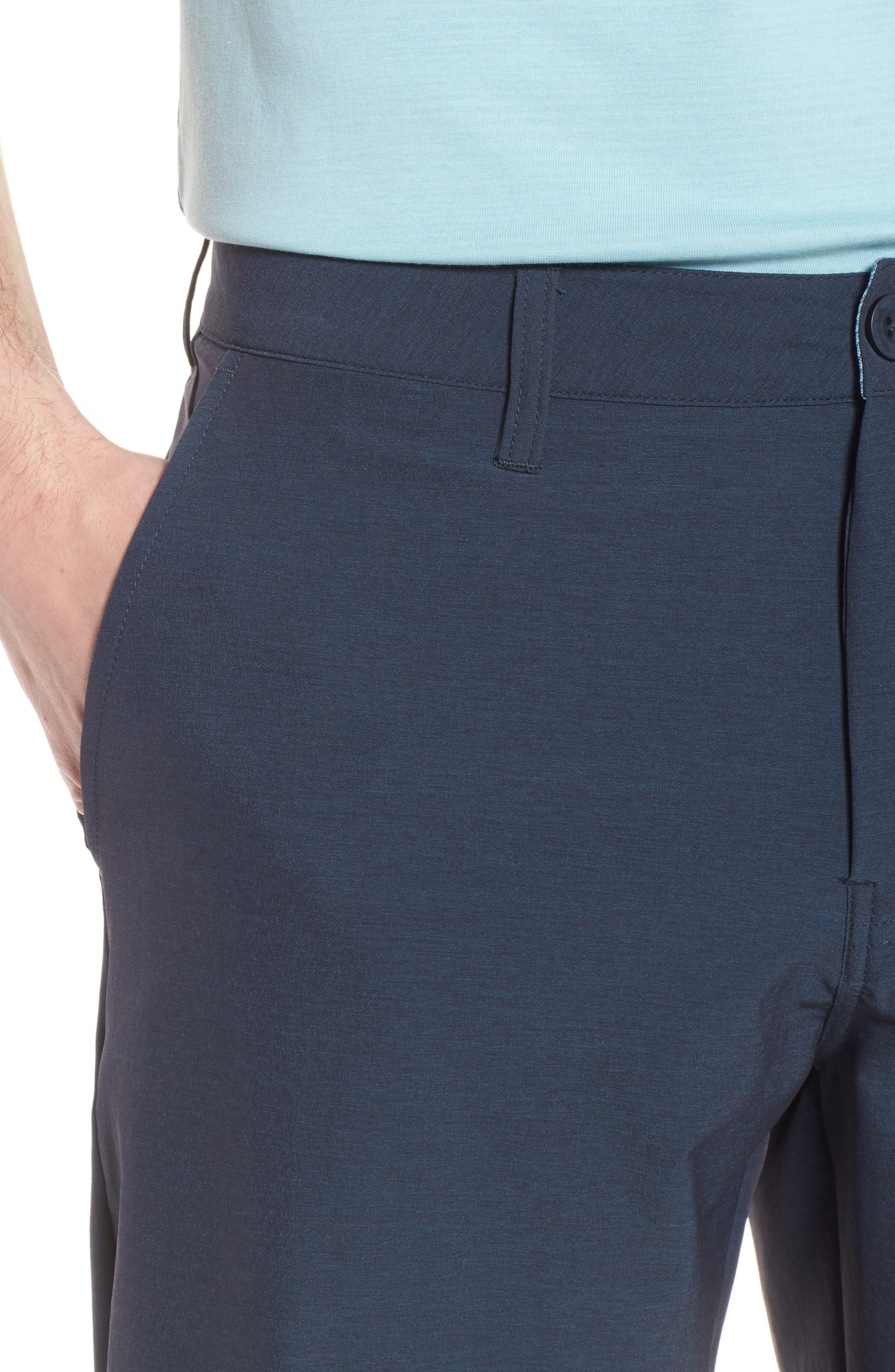 Pancho Shorts,                             Alternate thumbnail 4, color,                             Blue Nights/ French Blue