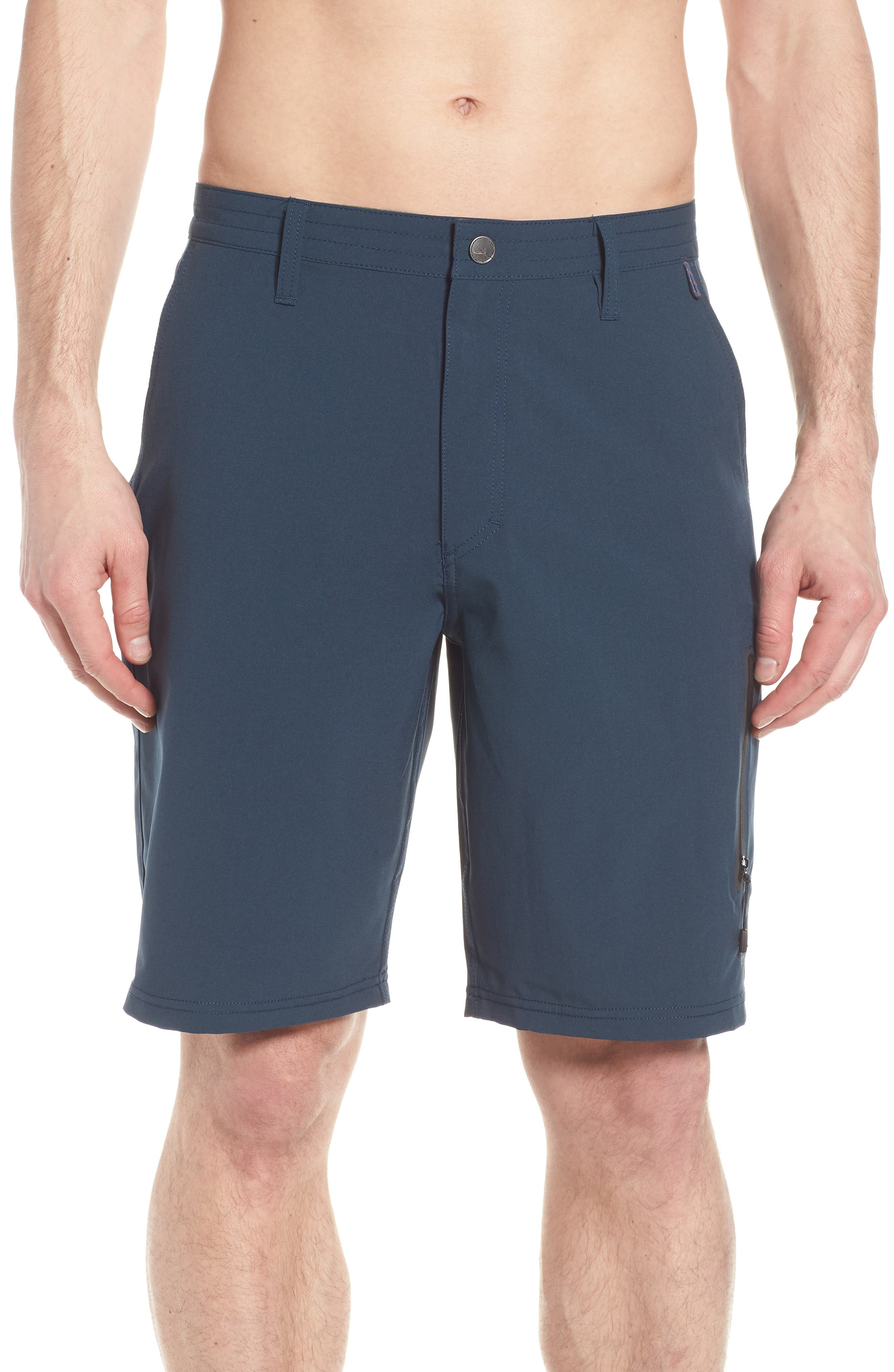Pipeline Hybrid Shorts,                             Alternate thumbnail 4, color,                             Lake Blue