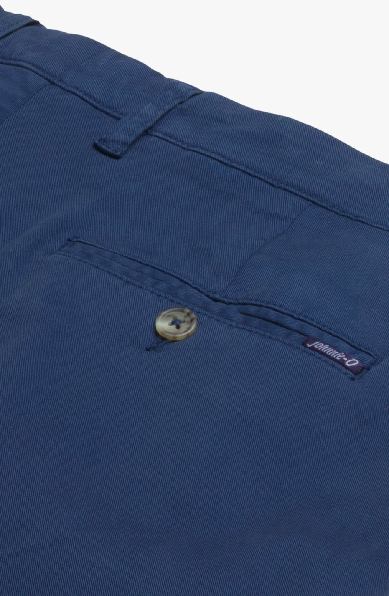 Neal Cotton Twill Shorts,                             Alternate thumbnail 2, color,                             High Tide
