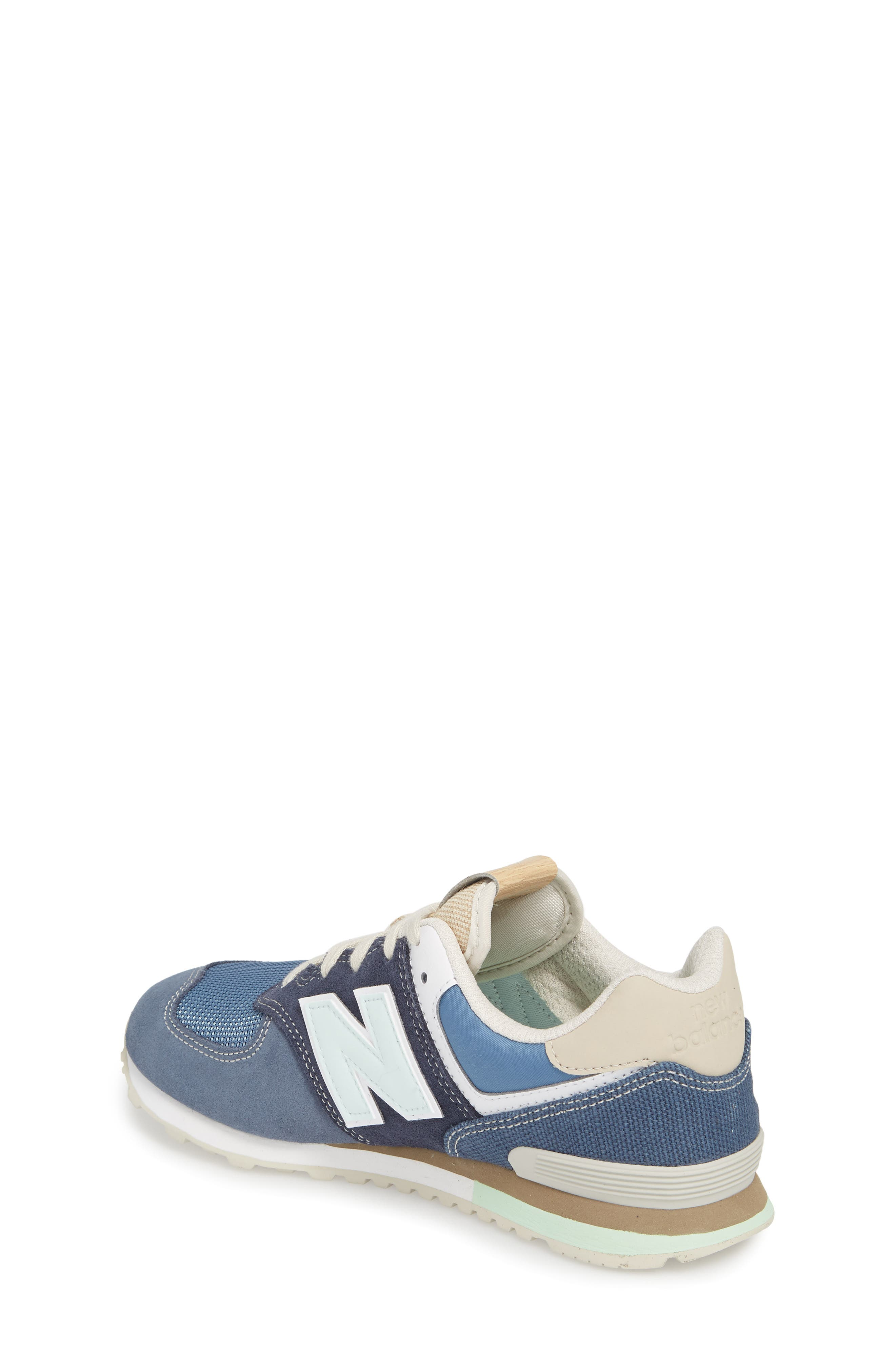 574 Retro Surf Sneaker,                             Alternate thumbnail 2, color,                             Navy