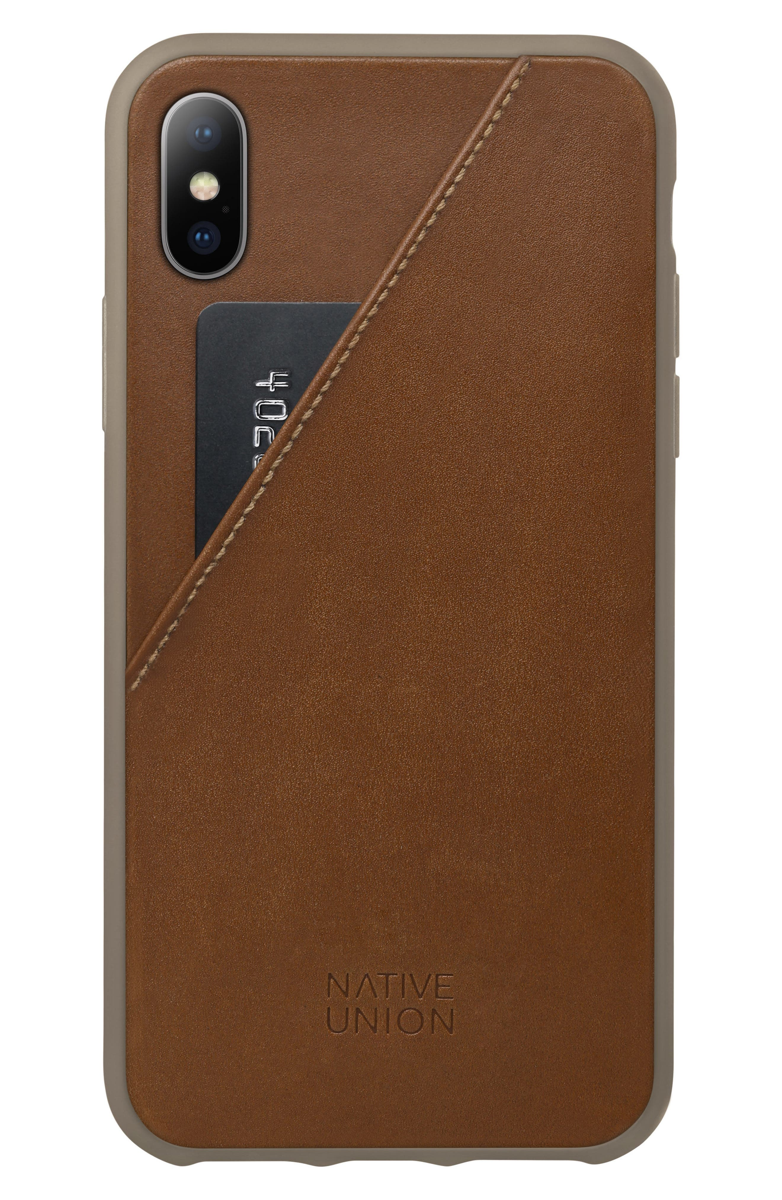 Native Union CLIC Card iPhone X Case