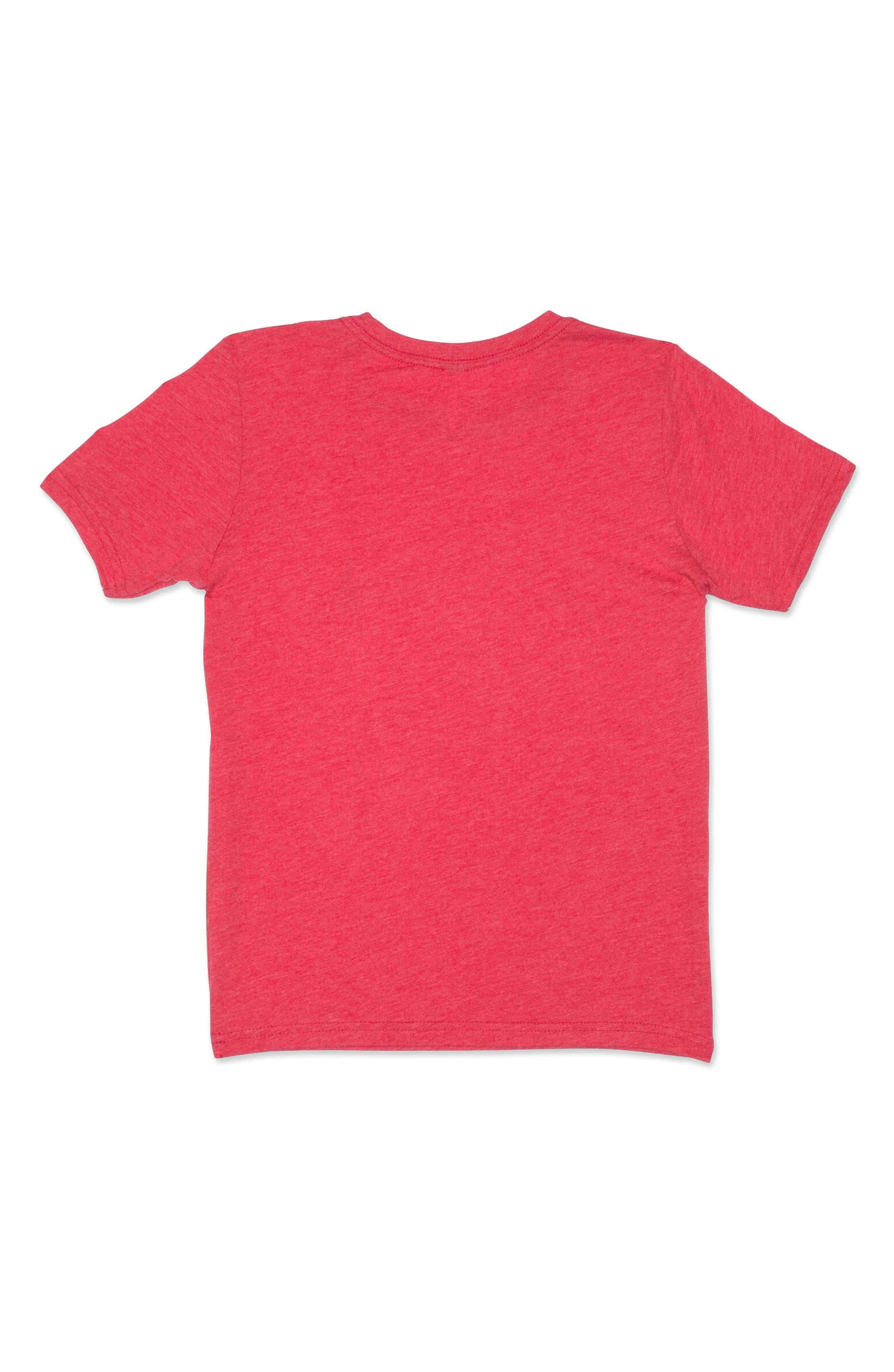 Greer Graphic T-Shirt,                             Alternate thumbnail 2, color,                             Malibu Red