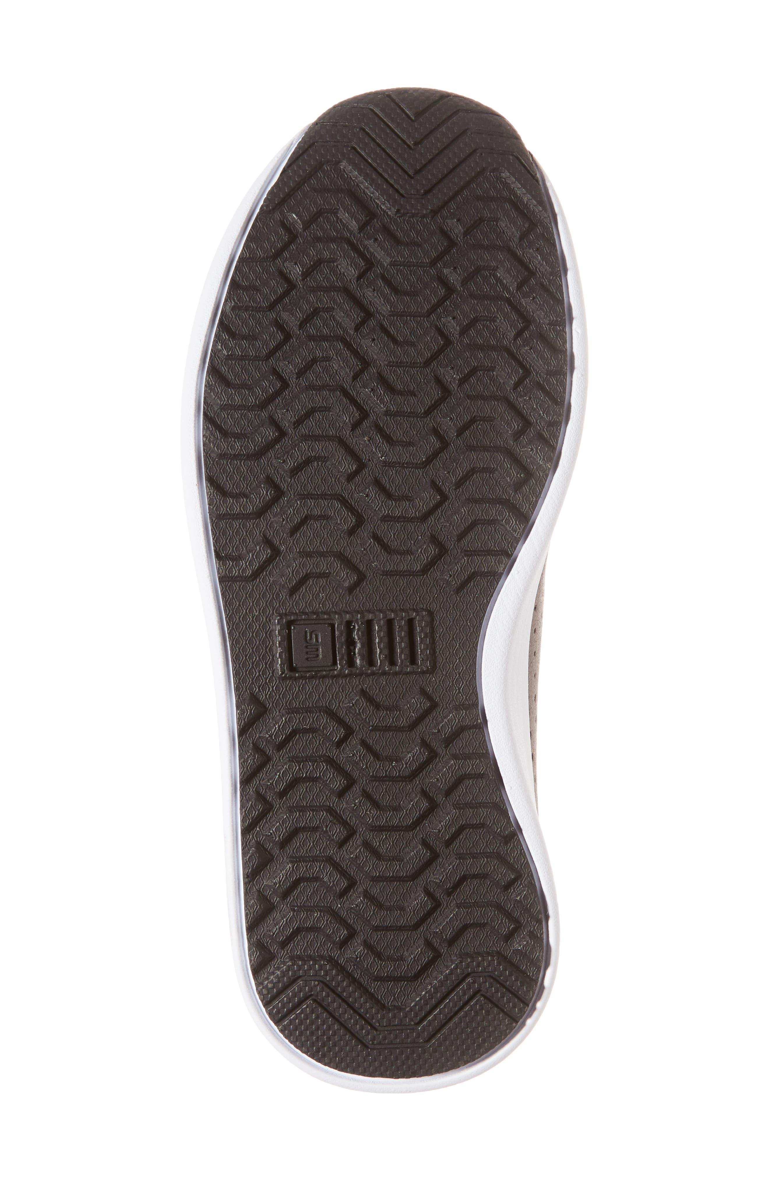 Brixxon Perforated Sneaker,                             Alternate thumbnail 6, color,                             Grey