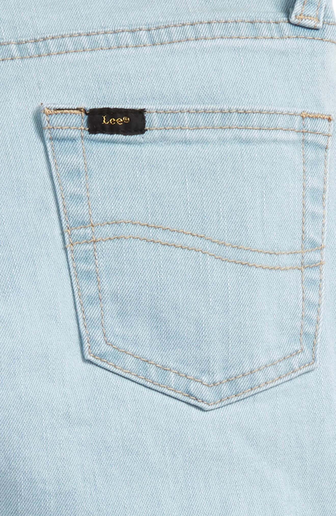 Skinny Fit Jeans,                             Alternate thumbnail 3, color,                             Waterfall