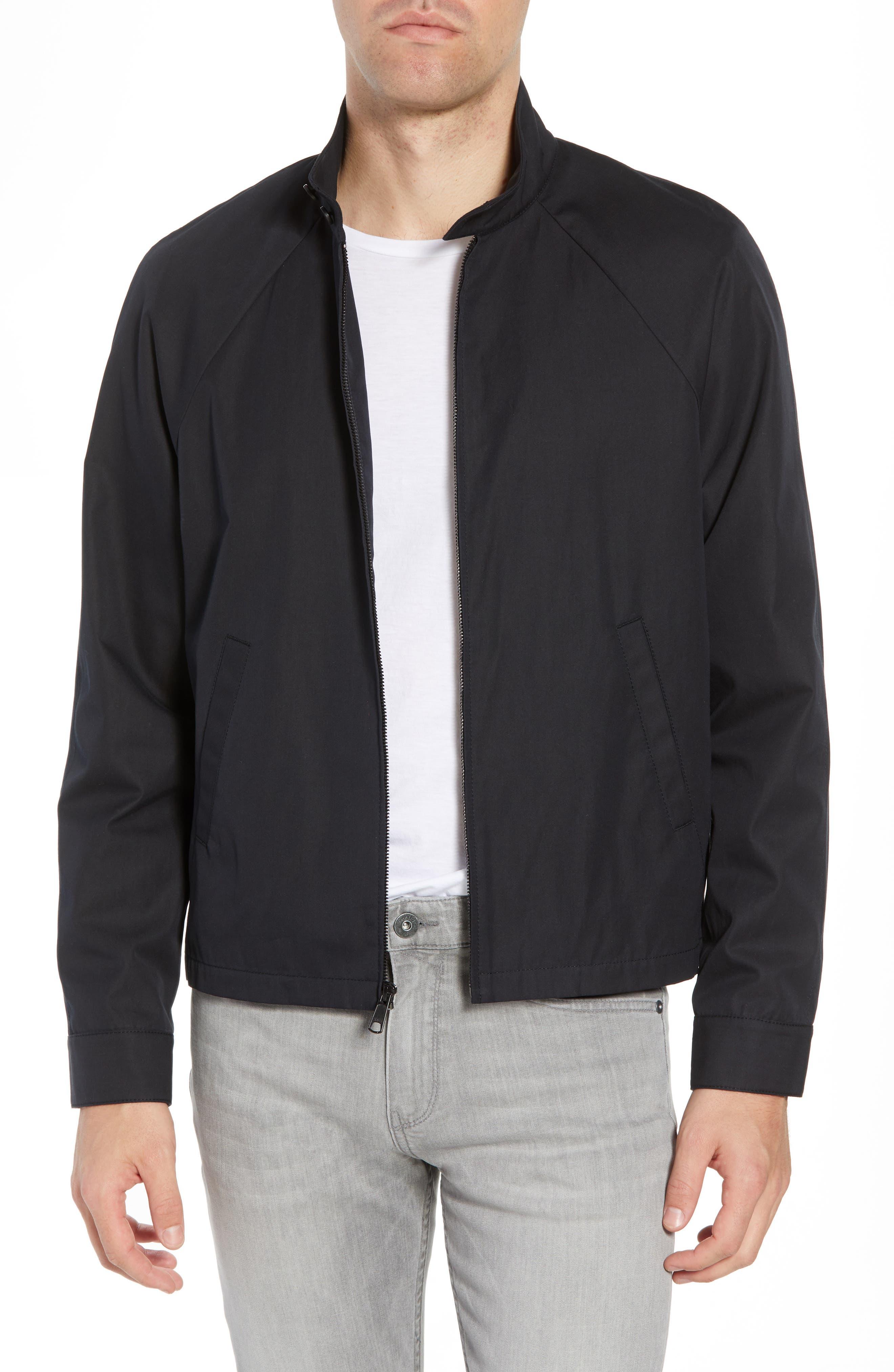 Regular Fit Jacket,                             Main thumbnail 1, color,                             Black