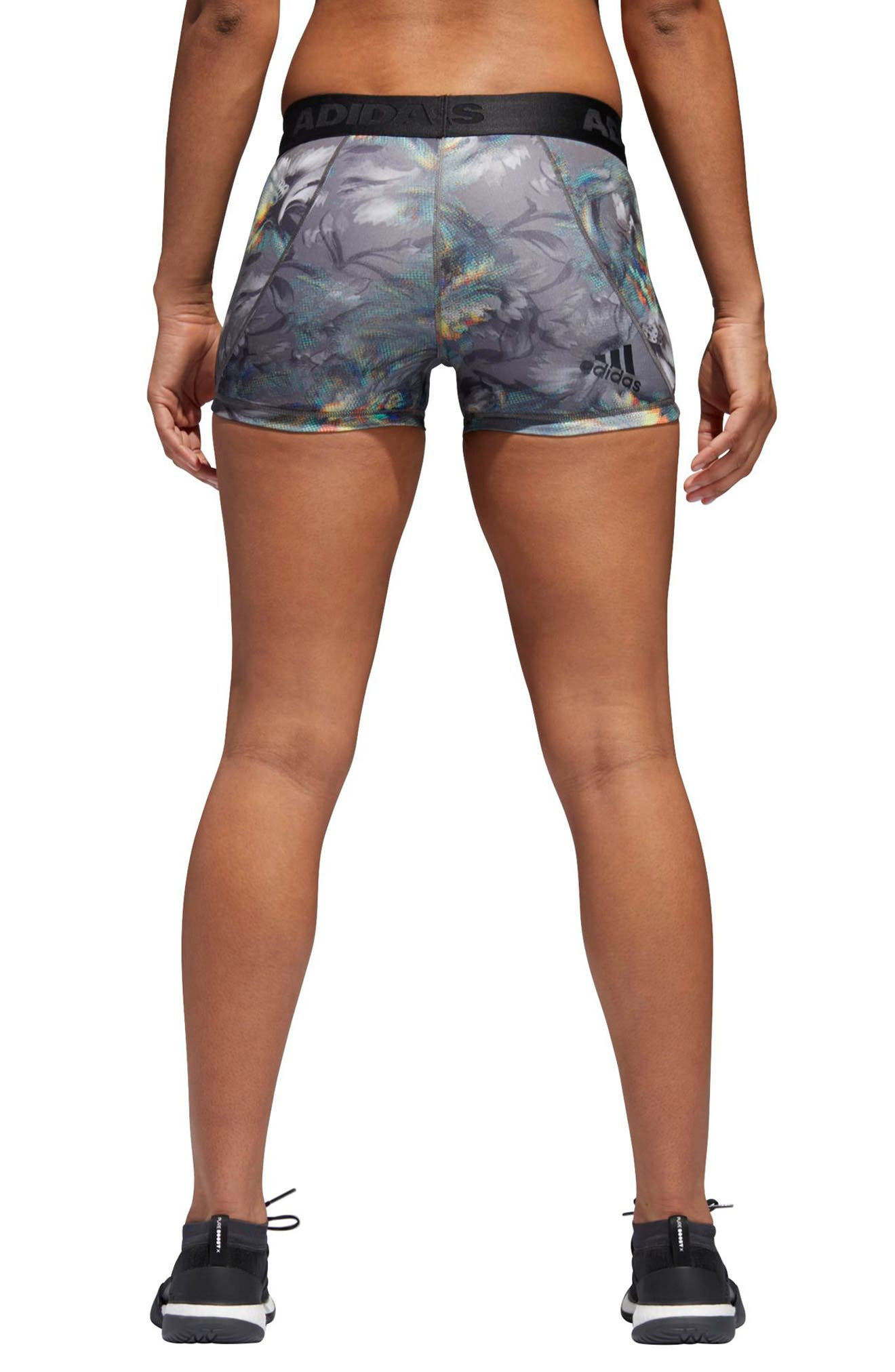 Alphaskin Sport Shorts,                             Alternate thumbnail 2, color,                             Grey Three/ Multicolor