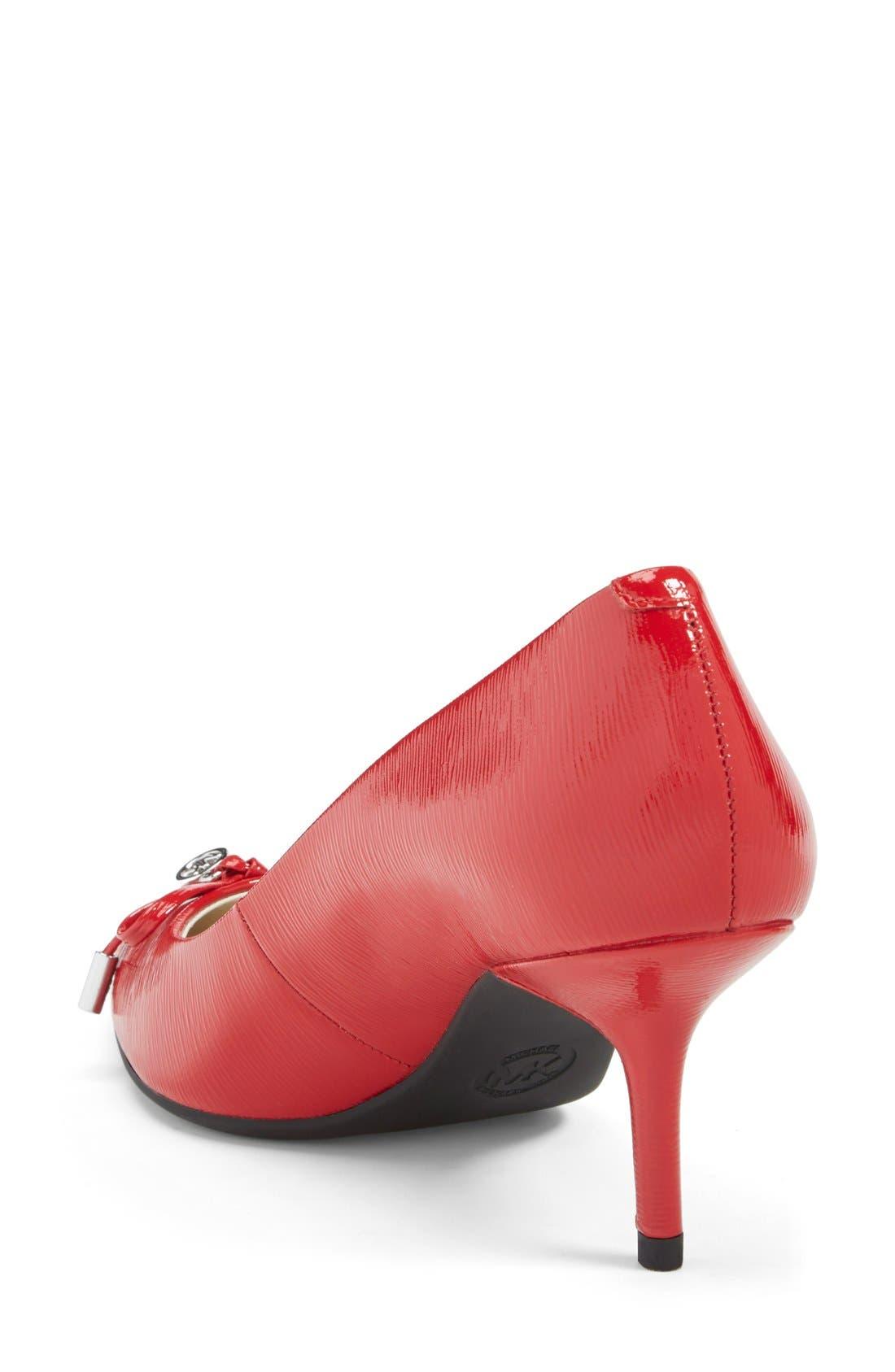 Alternate Image 2  - MICHAEL Michael Kors 'Nancy' Pointy Toe Pump (Women)