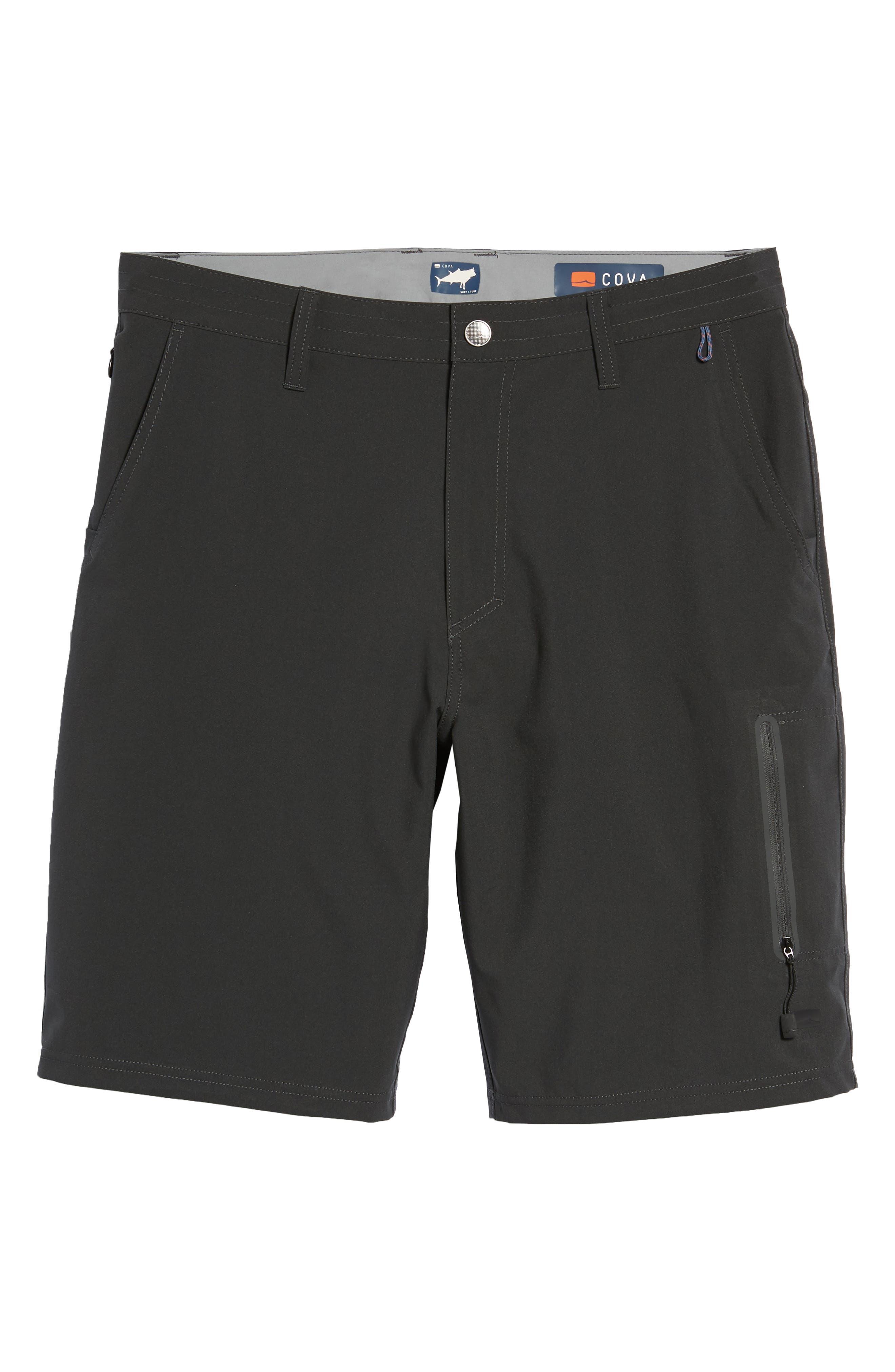Pipeline Hybrid Shorts,                             Alternate thumbnail 6, color,                             Black