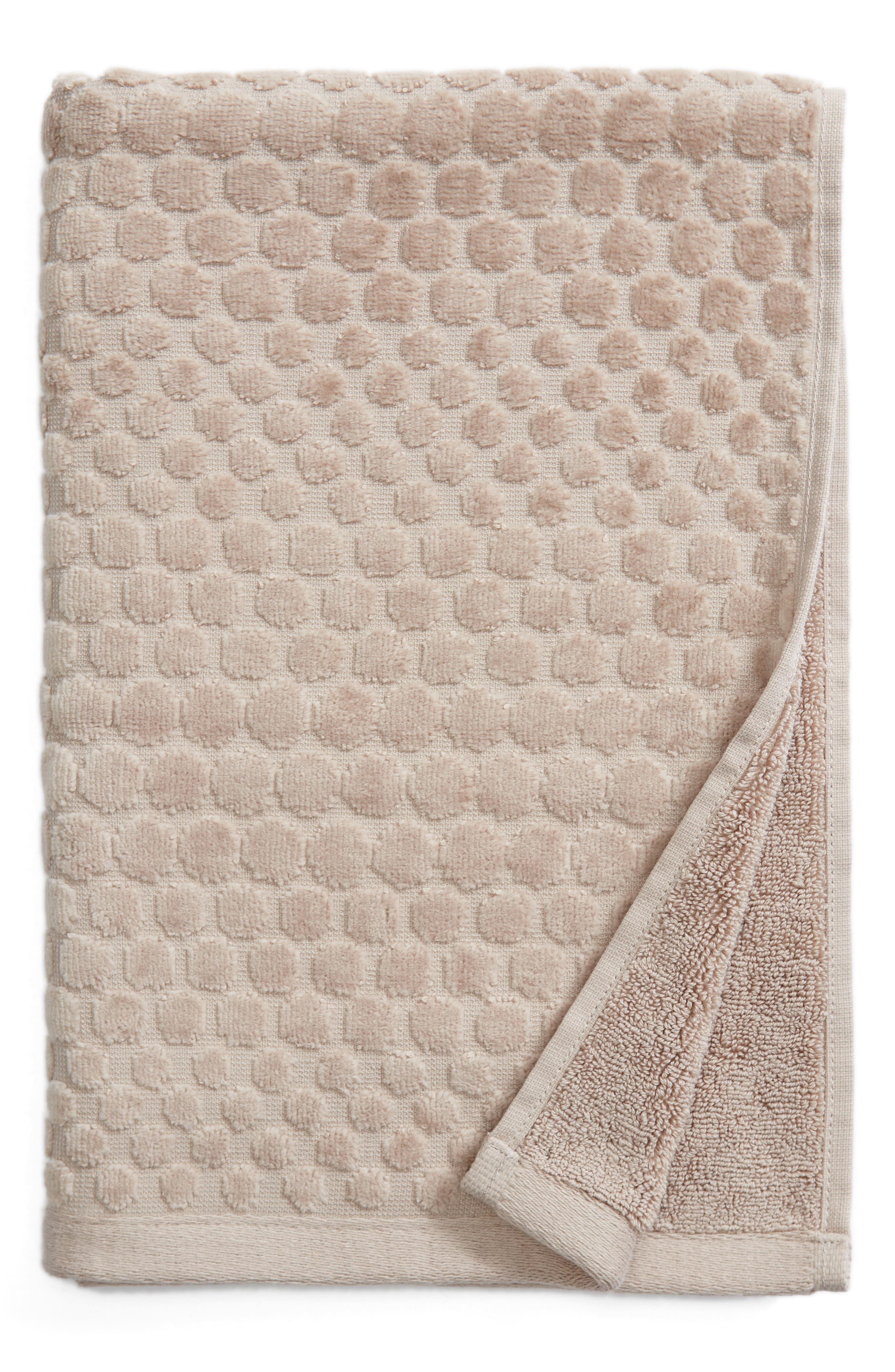 Lorenza Hand Towel,                             Main thumbnail 1, color,                             Grey Sphere