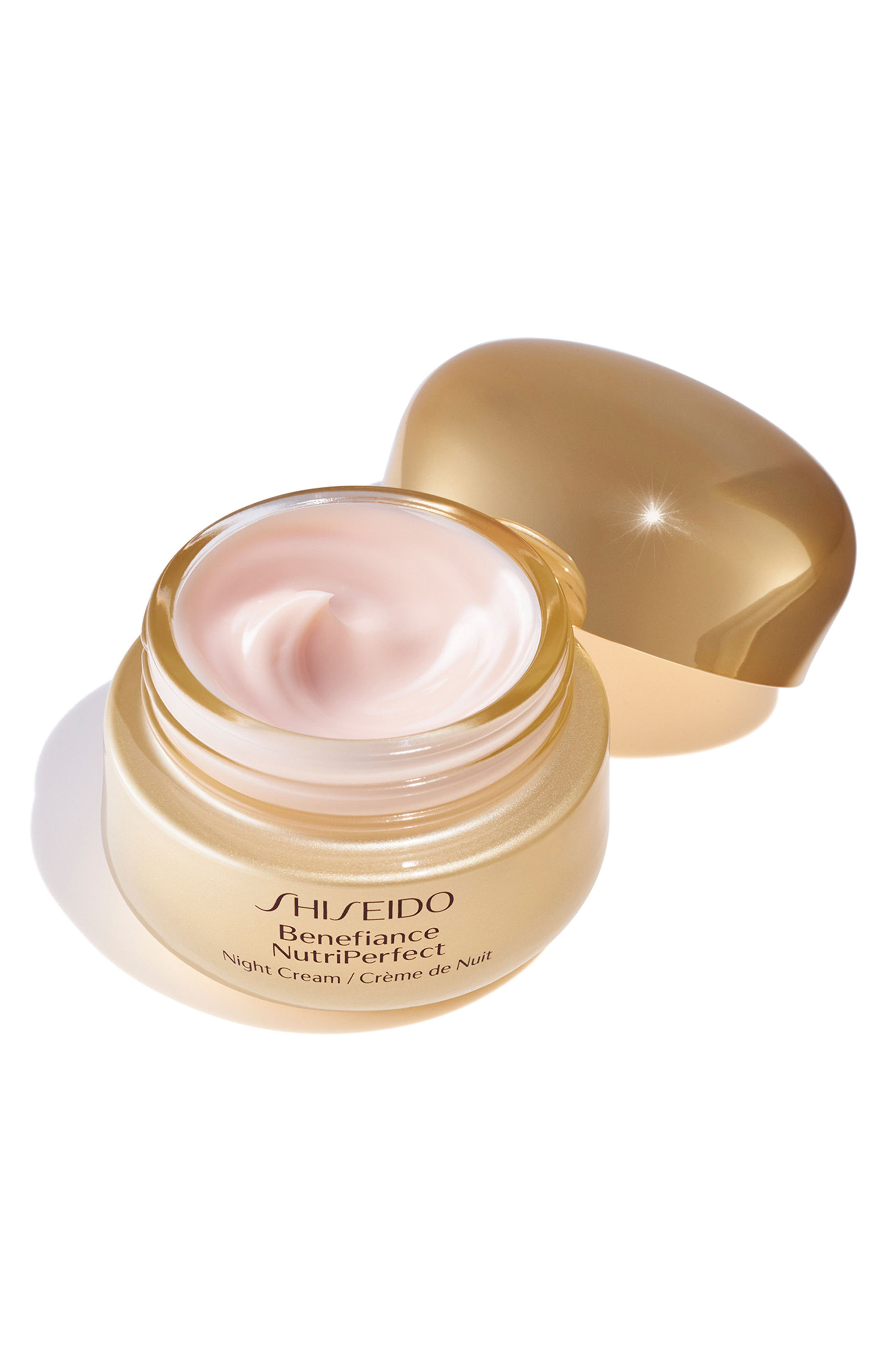 'Benefiance NutriPerfect' Night Cream,                             Alternate thumbnail 3, color,                             No Color