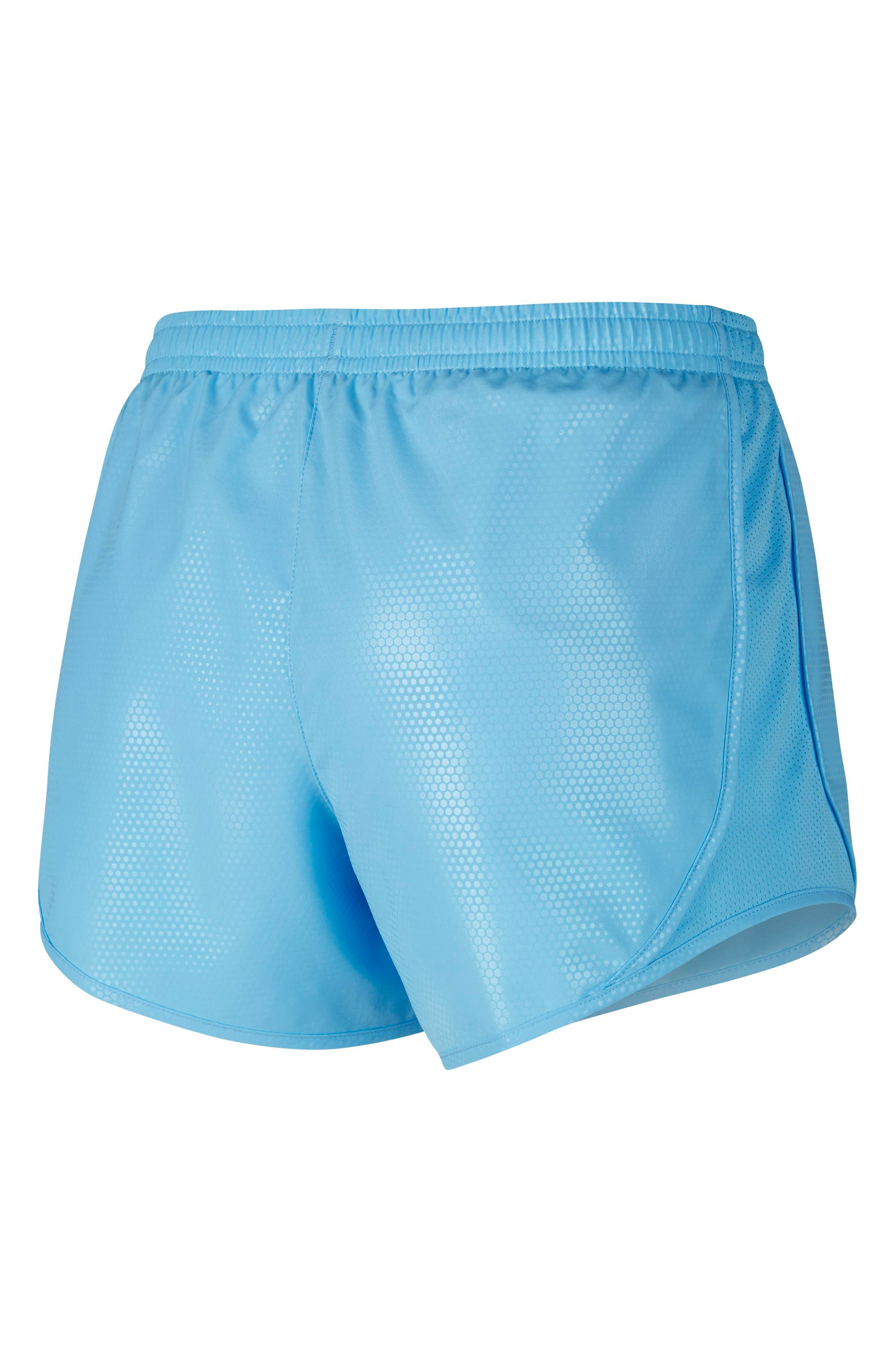 Dry Tempo Shorts,                             Alternate thumbnail 2, color,                             Blue Chill/ White
