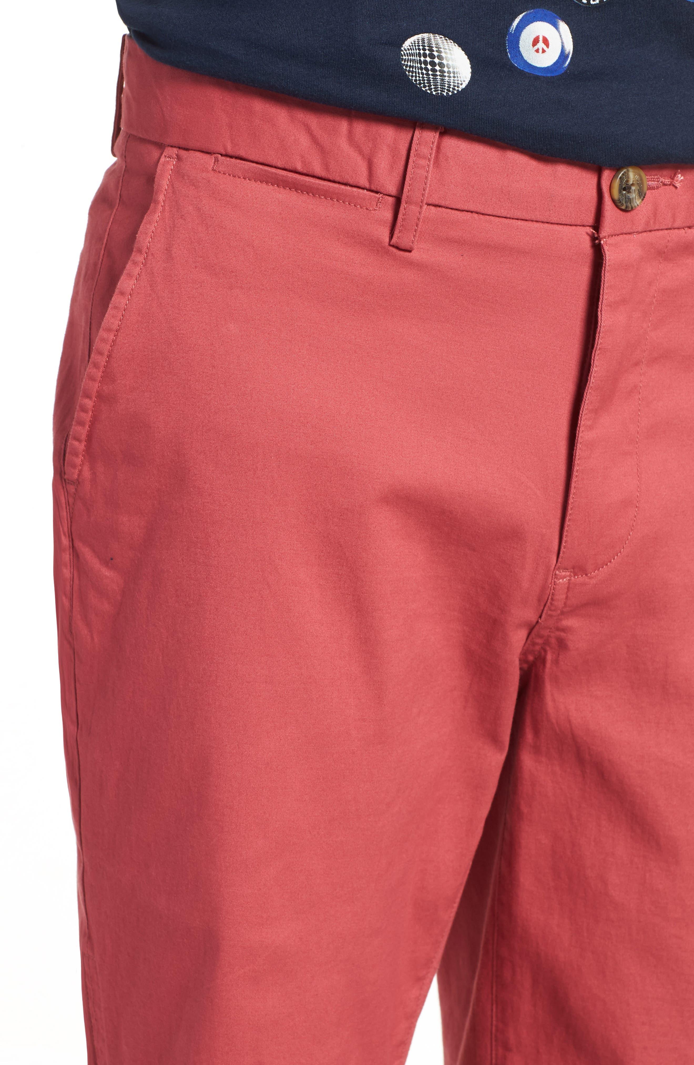 Alternate Image 4  - Ben Sherman Slim Stretch Chino Shorts