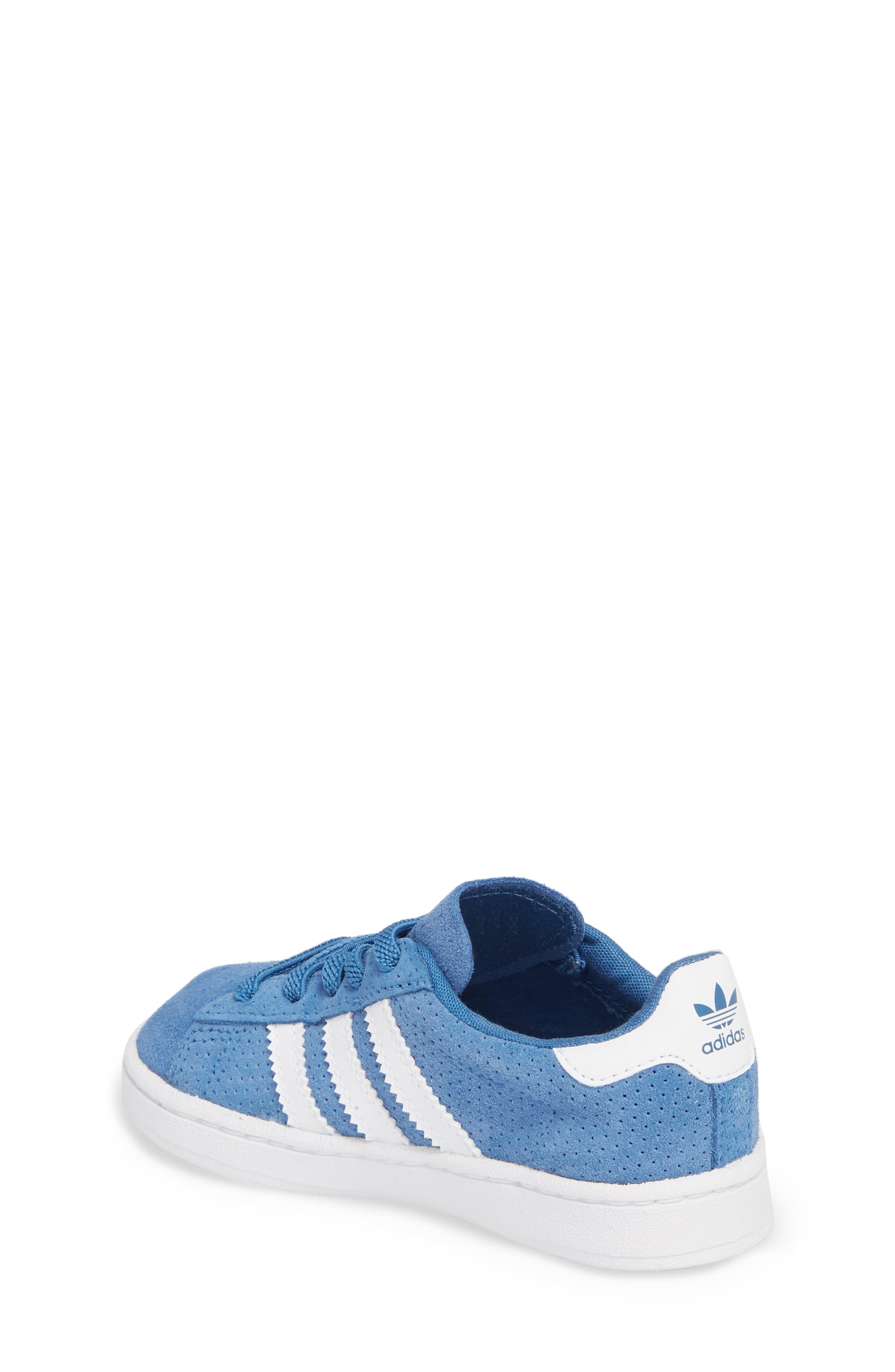 Campus J Sneaker,                             Alternate thumbnail 2, color,                             Trace Royal / White / White